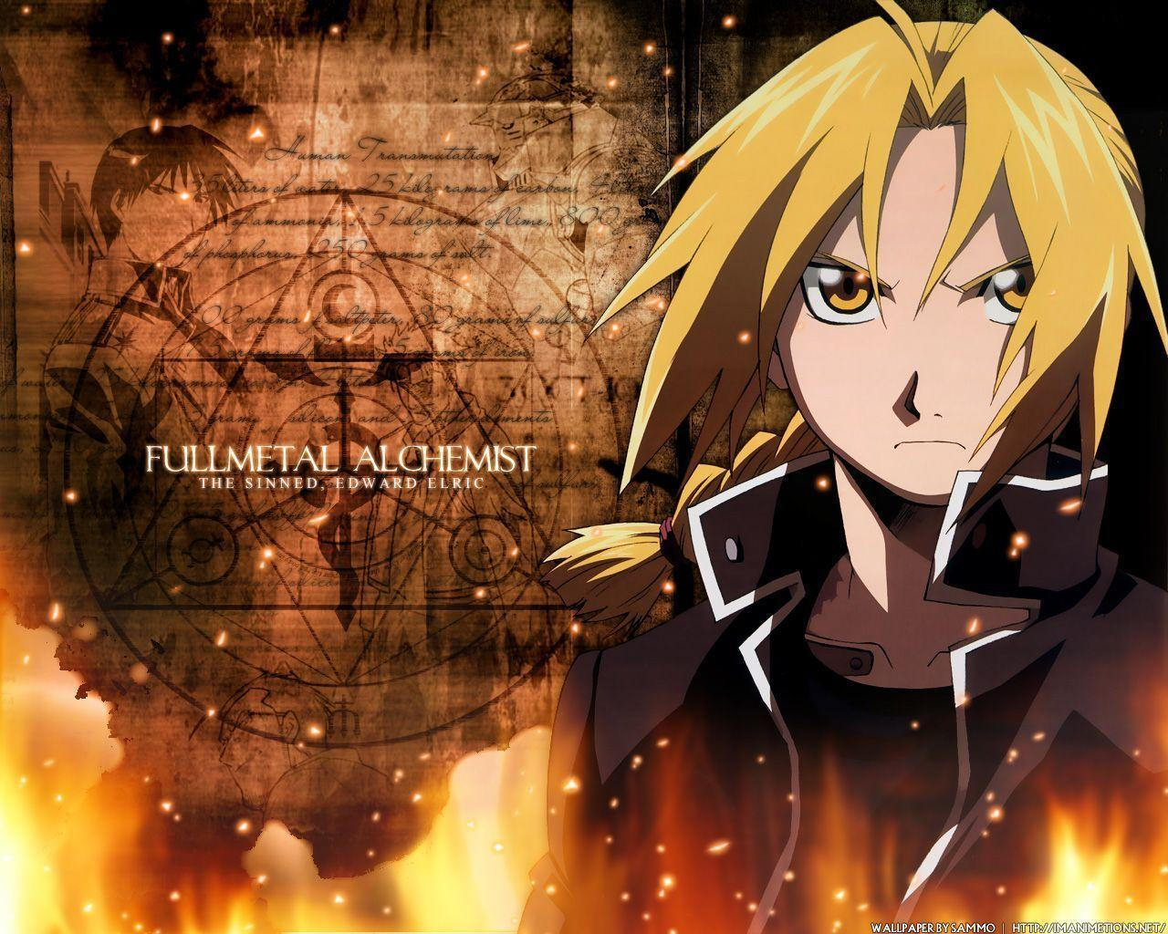 Image For > Edward Elric Brotherhood Wallpapers