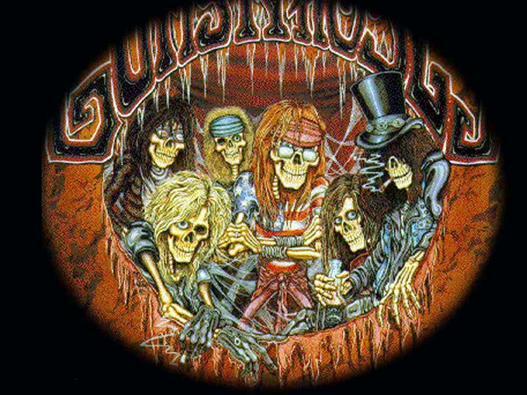 Guns N Roses Wallpaper: Guns N' Roses Logo Wallpapers