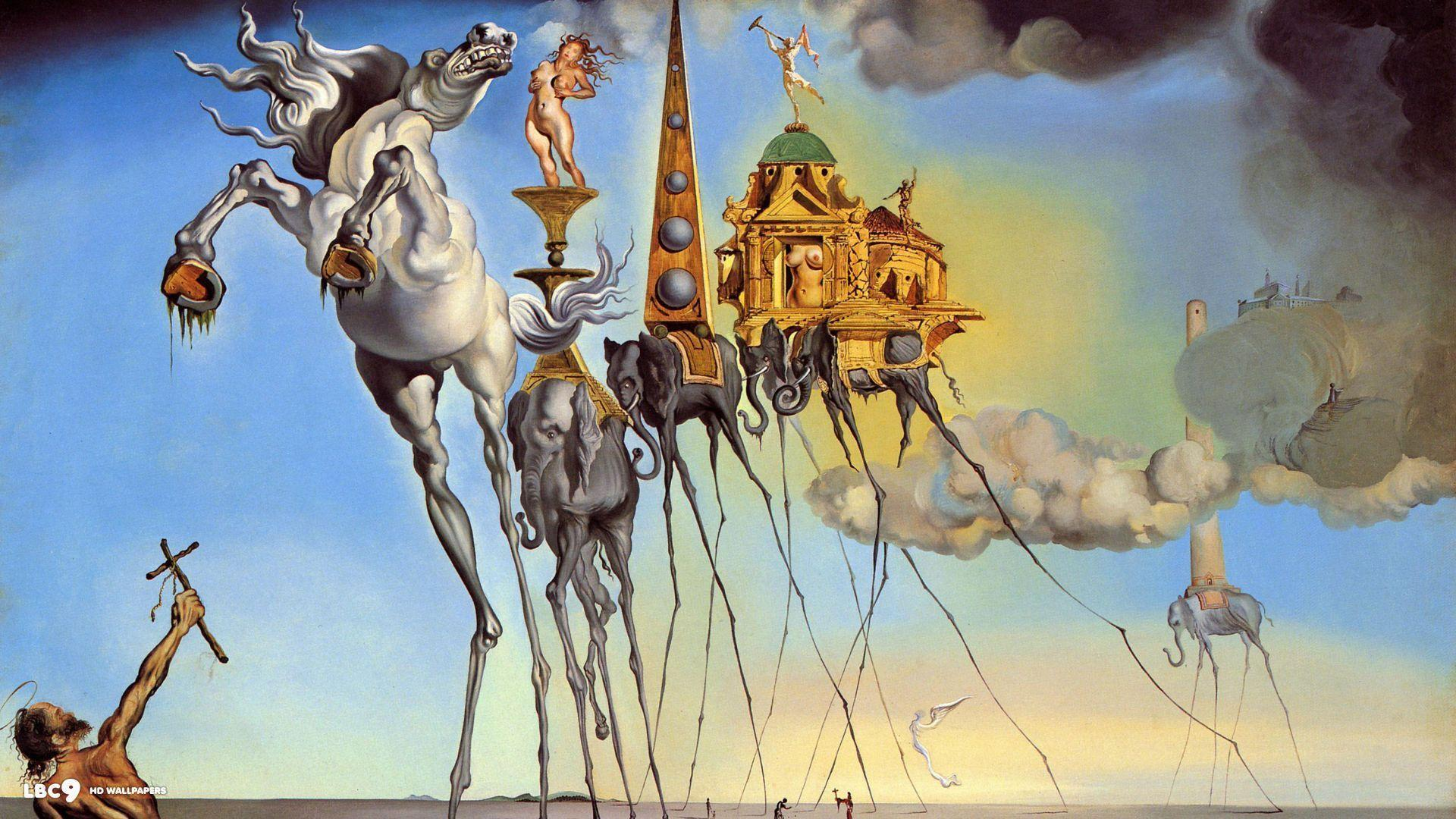 salvador dali wallpaper 36/38 | paintings hd backgrounds