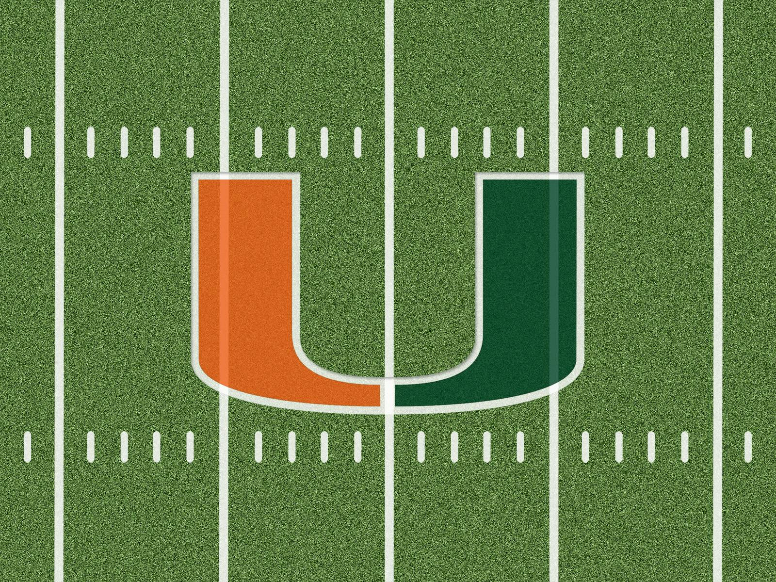 University Of Miami Hurricanes Football Wallpaper