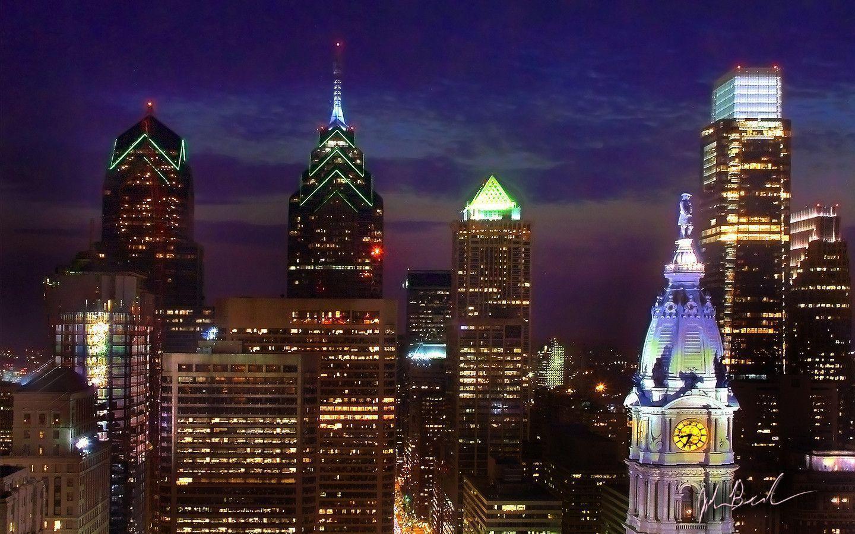 philadelphia skyline wallpaper - photo #11