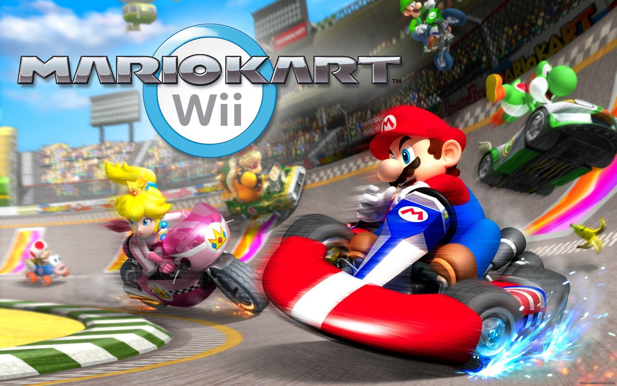 Mario Kart Wii Wallpapers - Wallpaper Cave