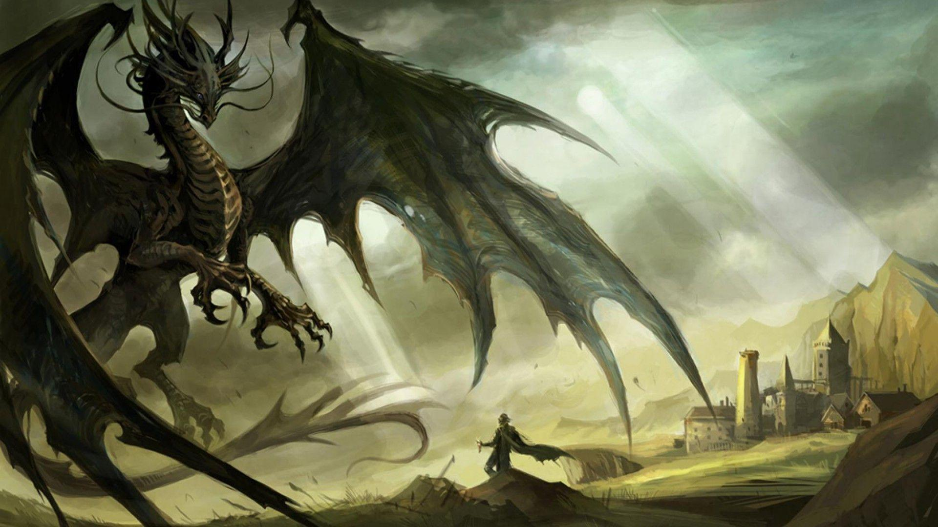 dragon wallpaper widescreen high resolution - photo #5