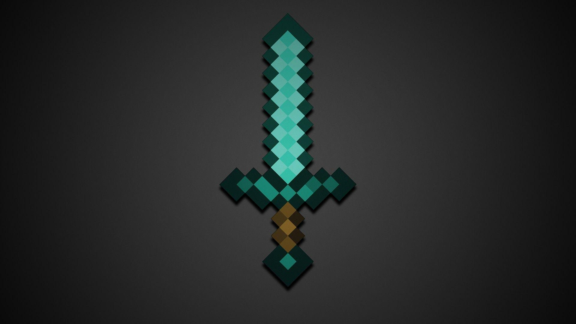Diamond Swords Minecraft Game HD Wallpapers