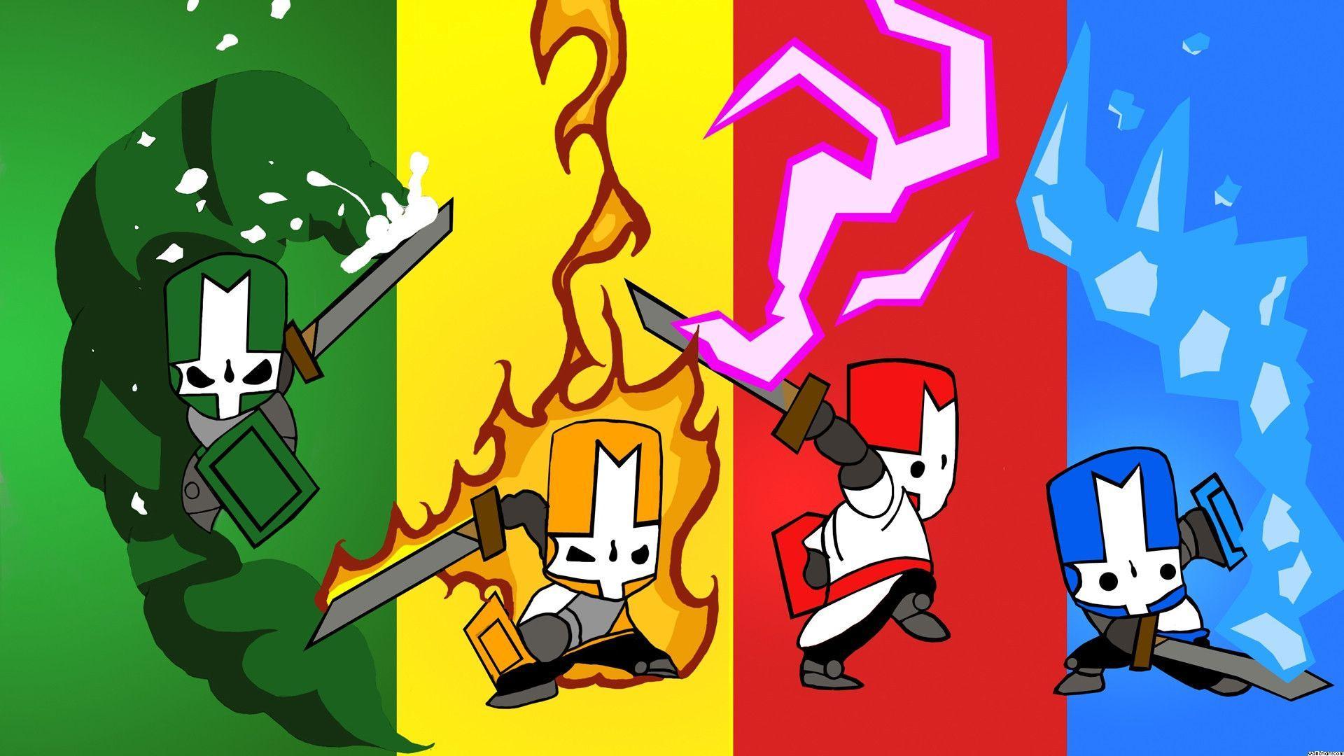Personajes Castle Crashers