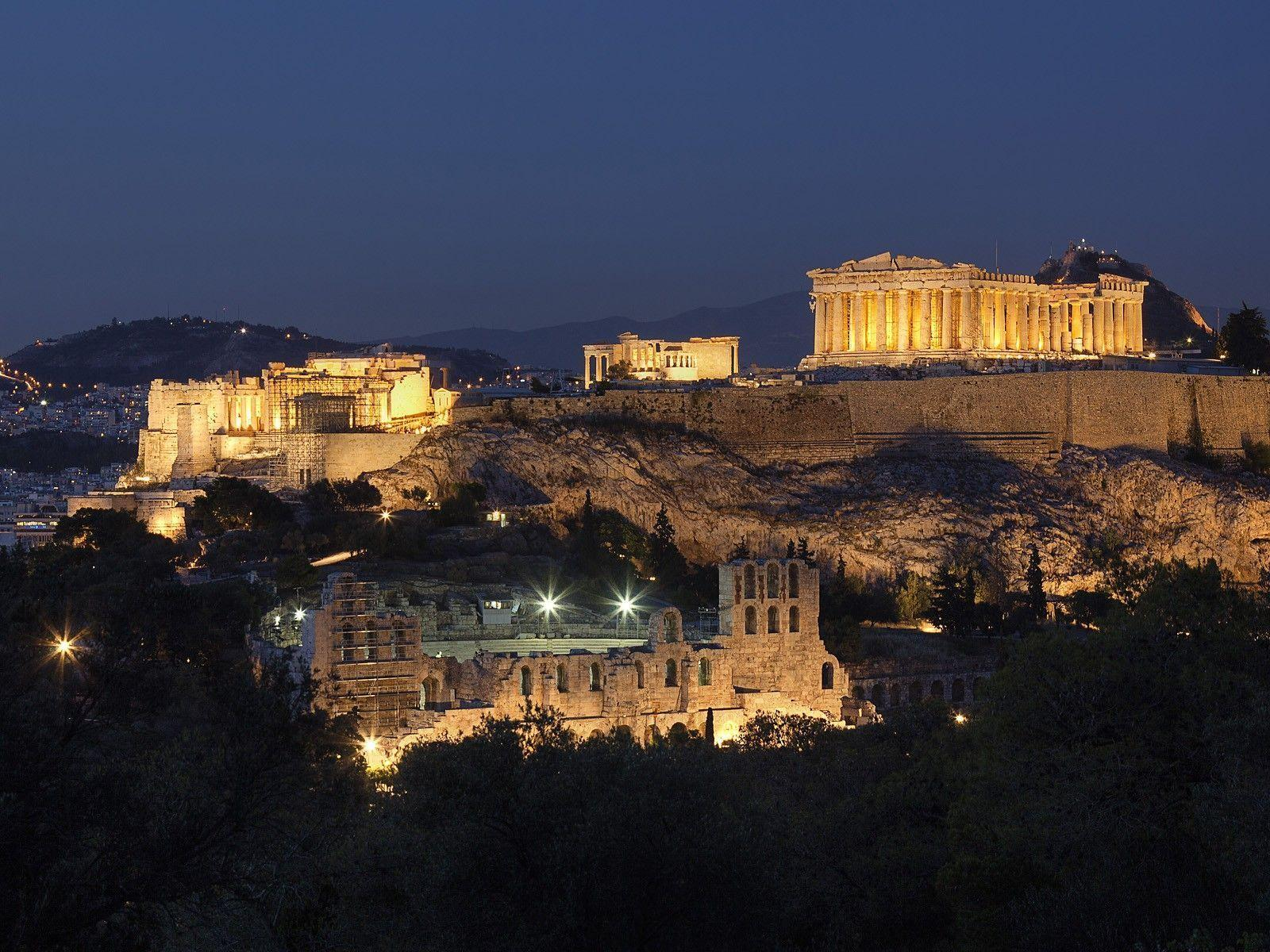 Wallpapers of the day: Parthenon