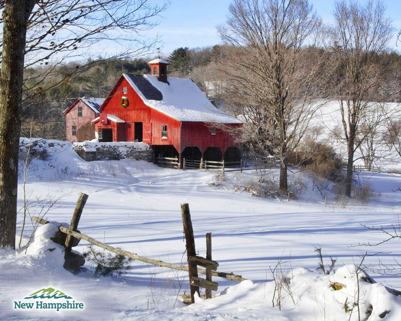 Country christmas wallpapers wallpaper cave for Farmhouse wallpaper