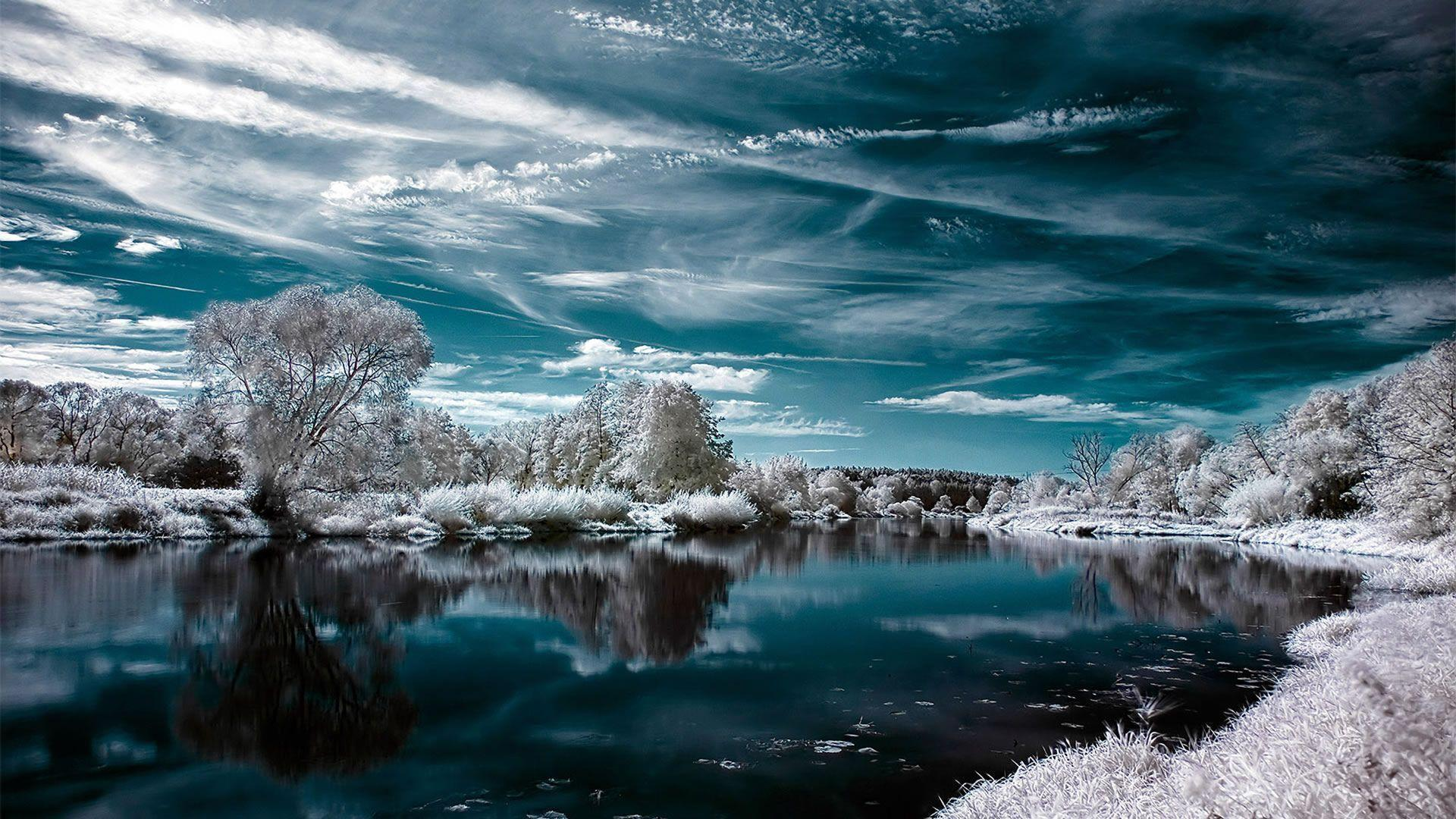 Winter Wallpaper 53 Backgrounds | Wallruru.