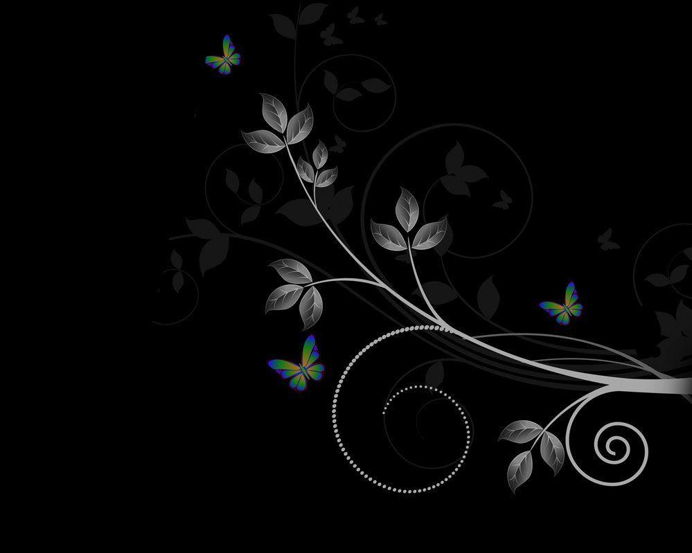 dark butterfly wallpaper desktop - photo #15