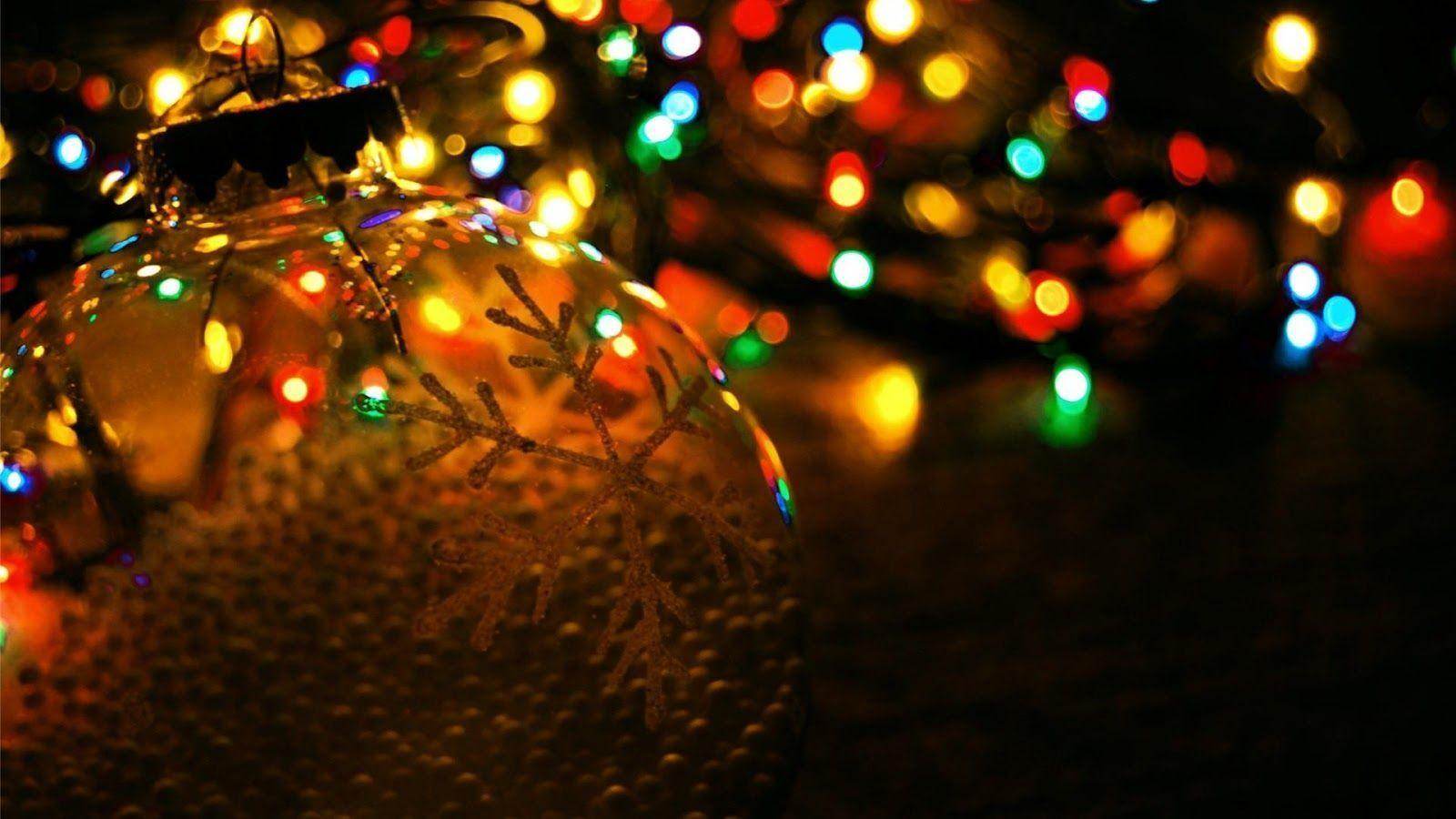 Christmas Lights HD Wallpaper Free Download | HD Free Wallpapers ...