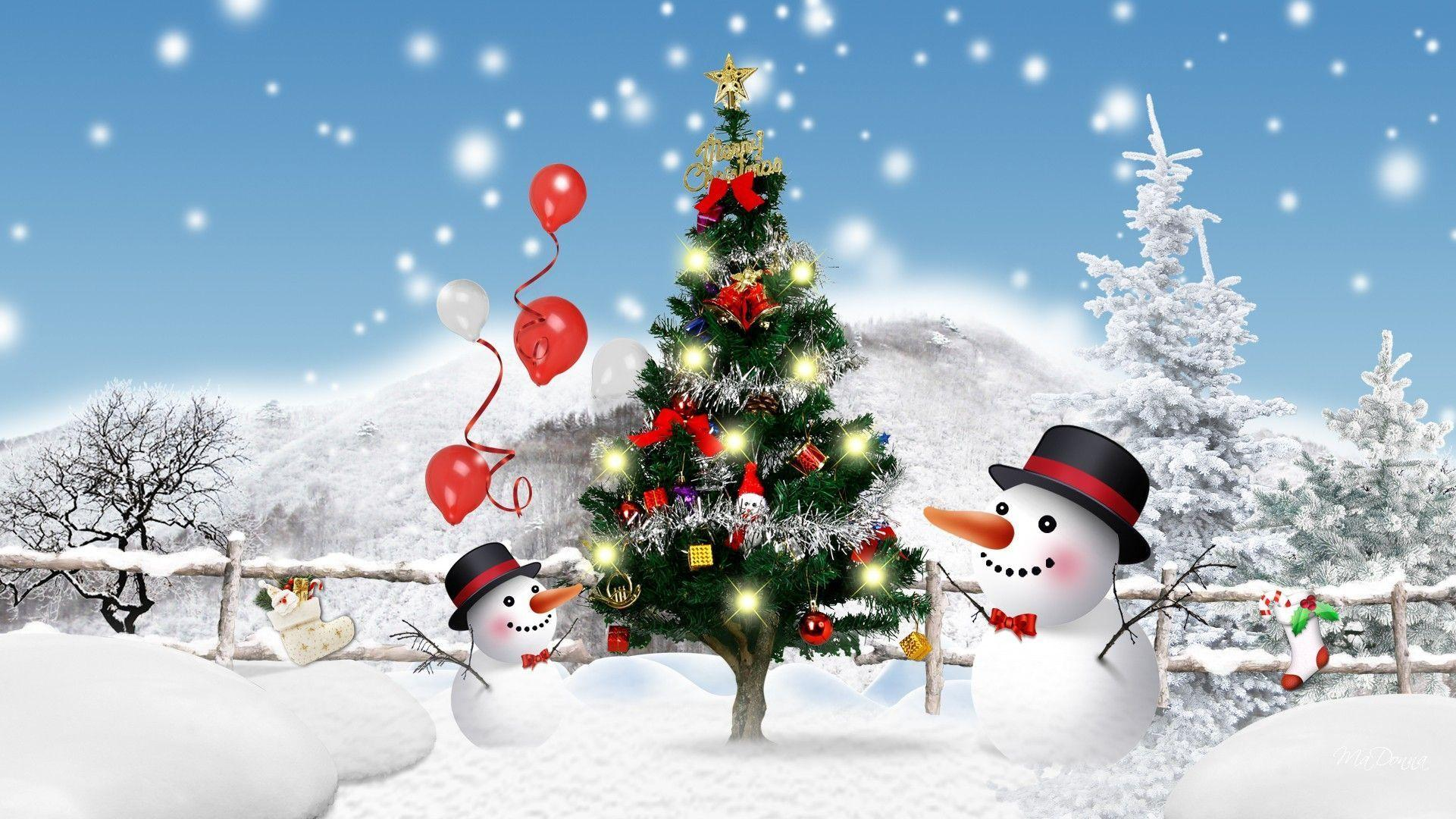 Christmas 3D Wallpapers - Wallpaper Cave