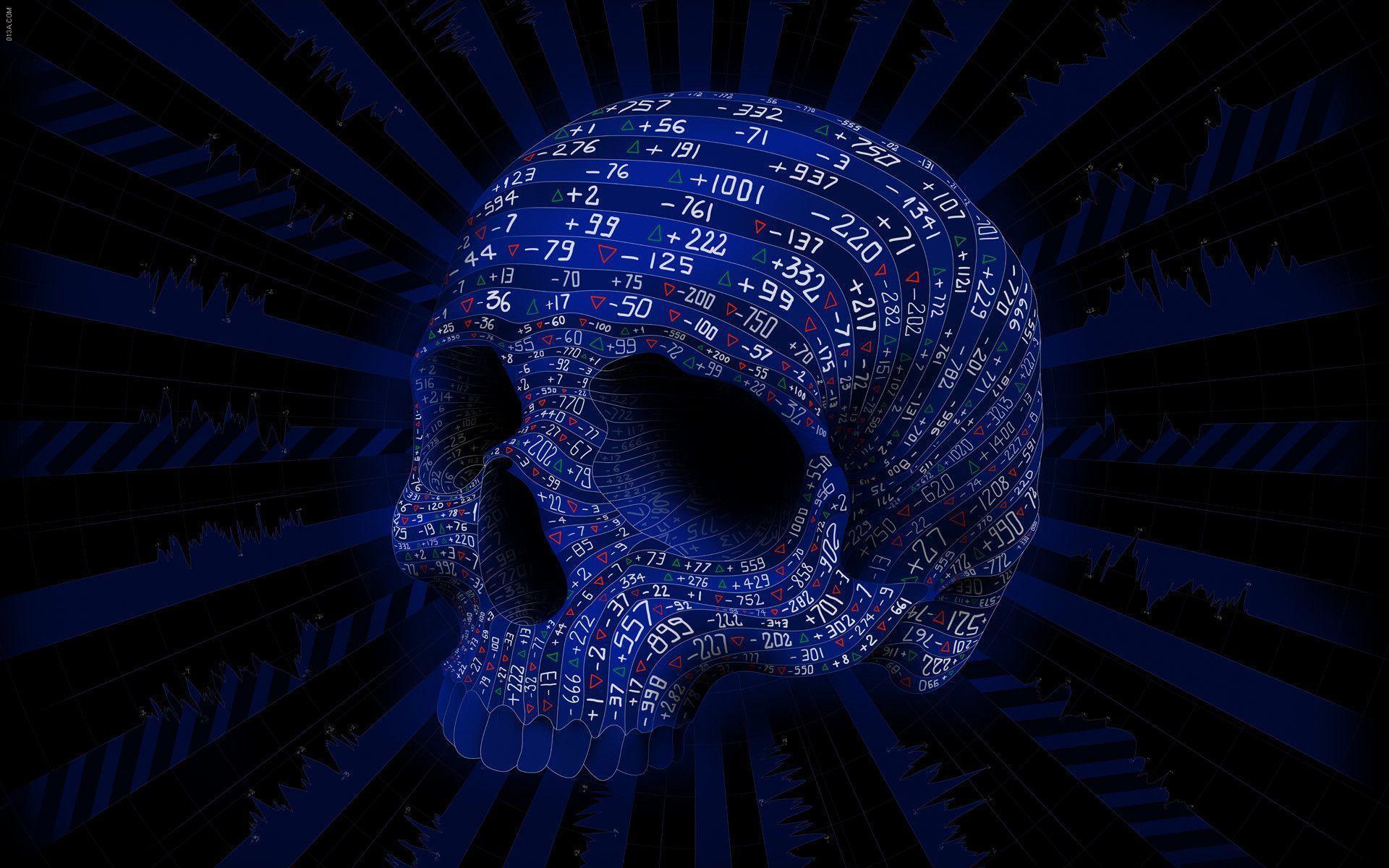 free skull desktop wallpapers