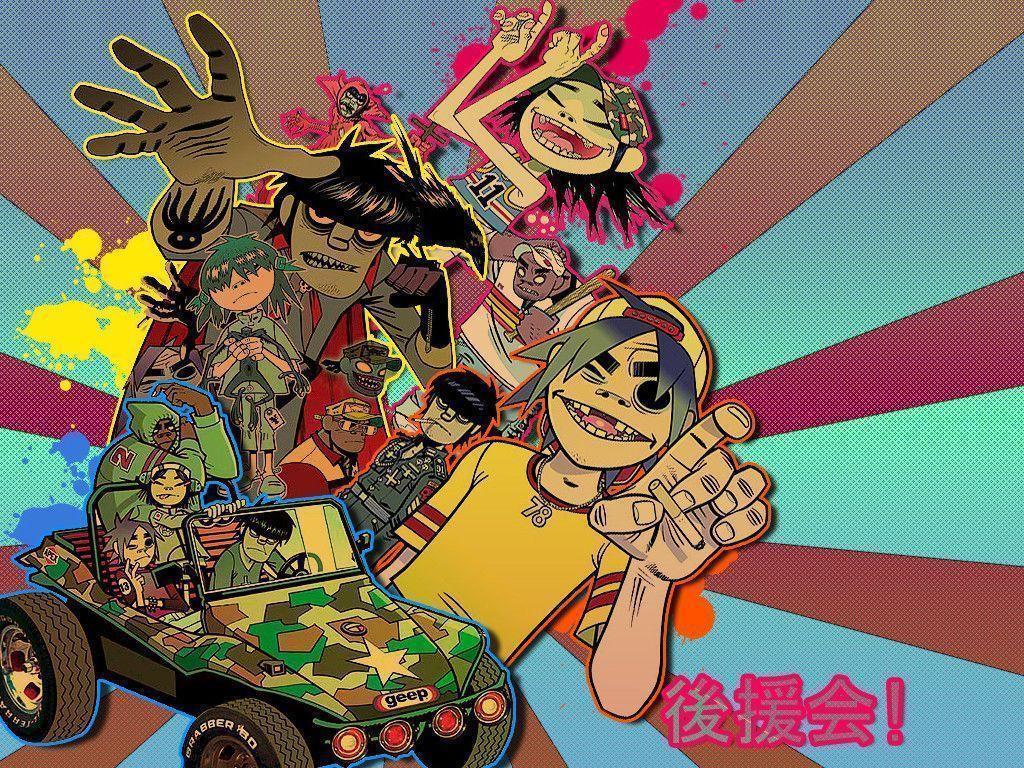 Gorillaz Wallpaper Gorillaz Desktop Wallp...