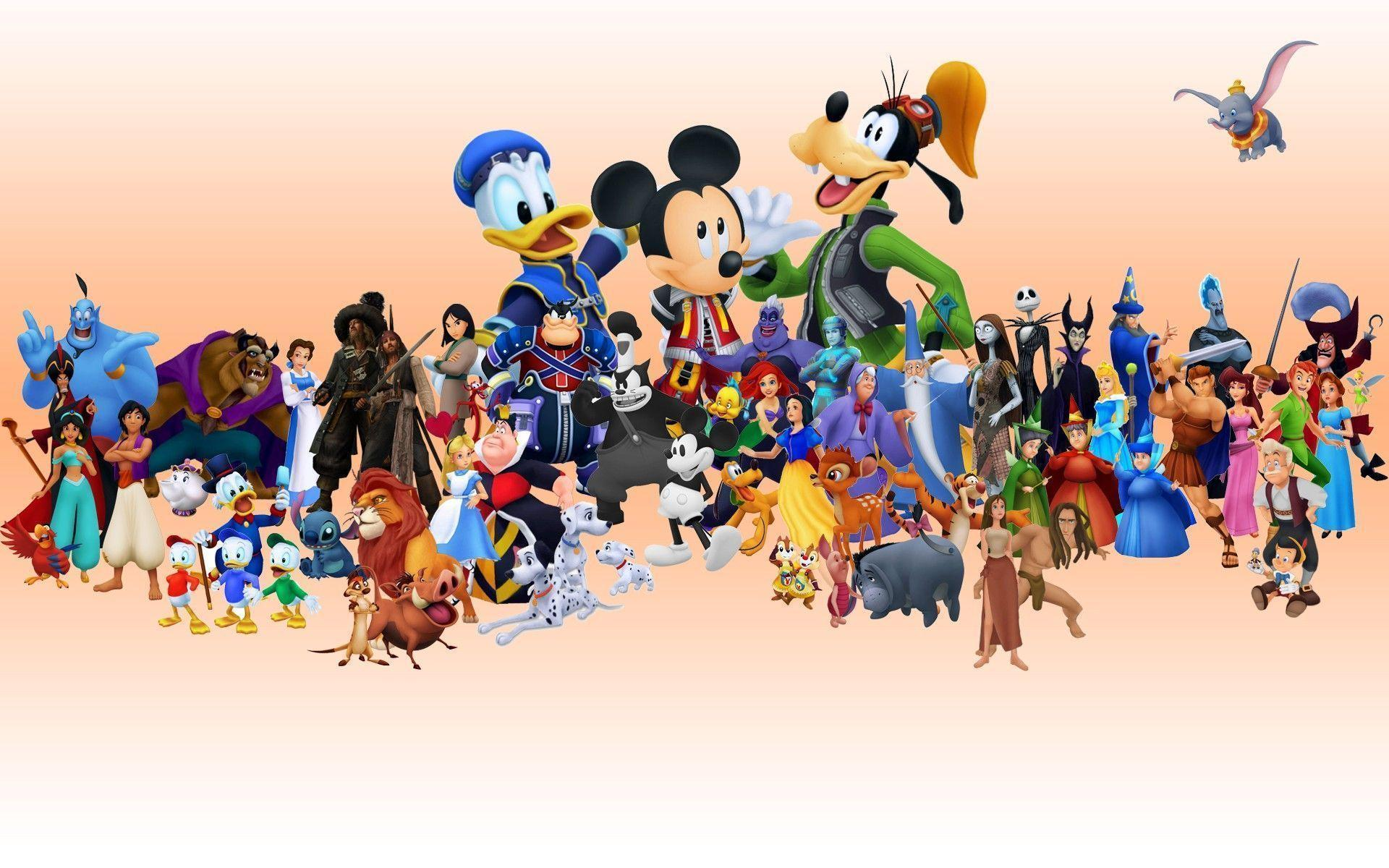 Walt Disney Characters Pictures HD Wallpaper #10695 Wallpaper ...