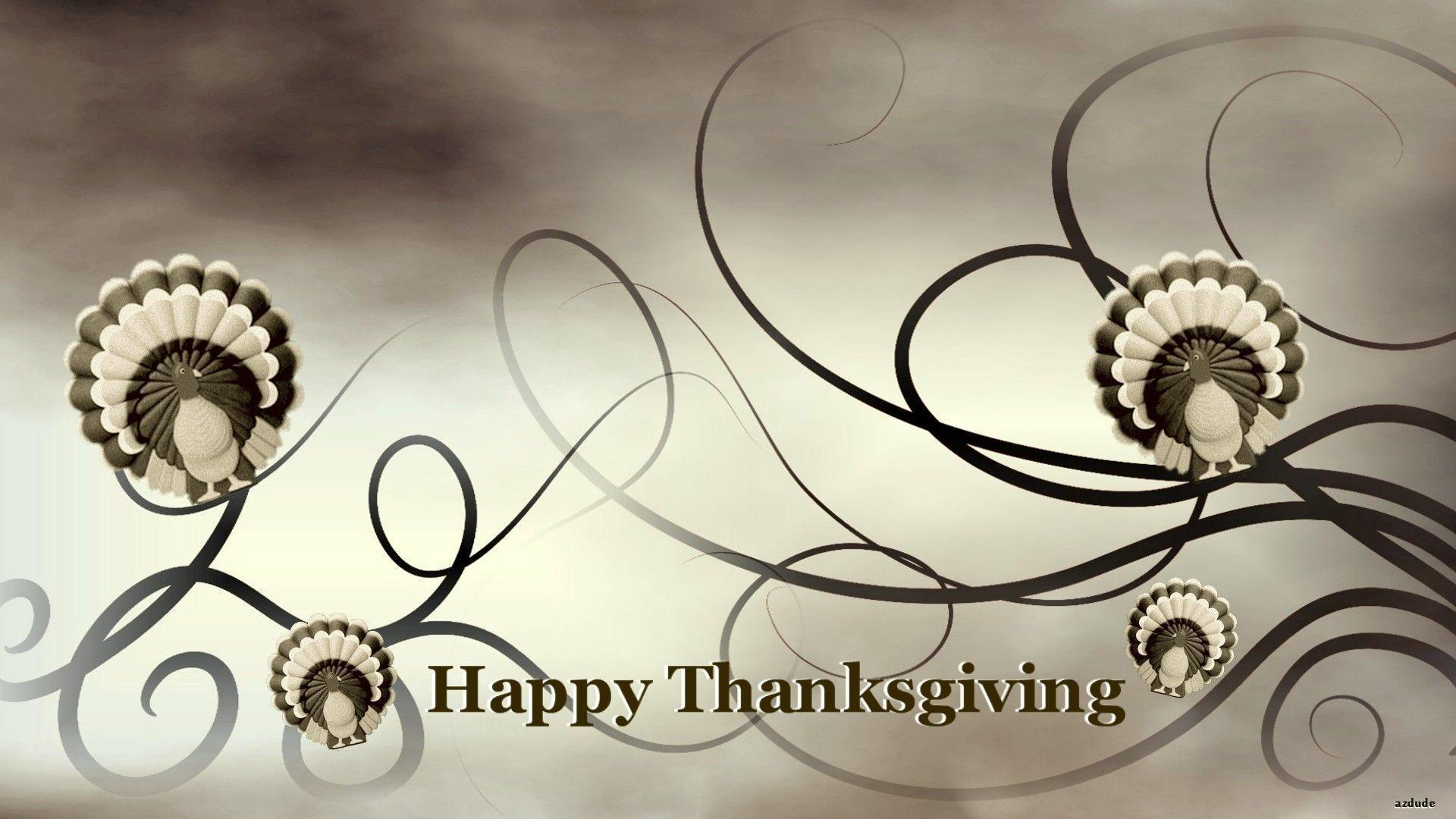 Happy Thanksgiving and Thanksgiving Turkey Wallpapers
