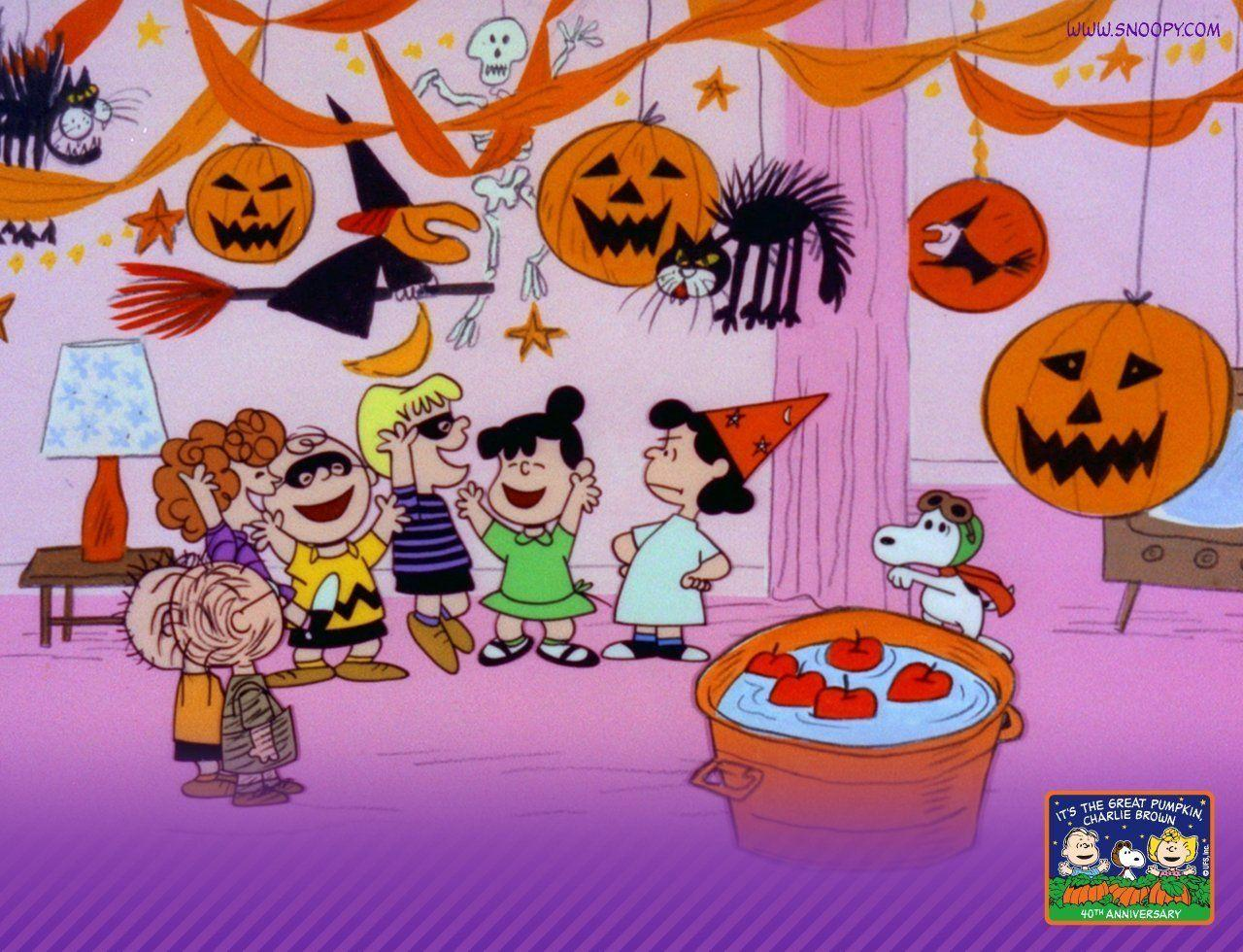 Charlie Brown Halloween Wallpapers Wallpaper Cave