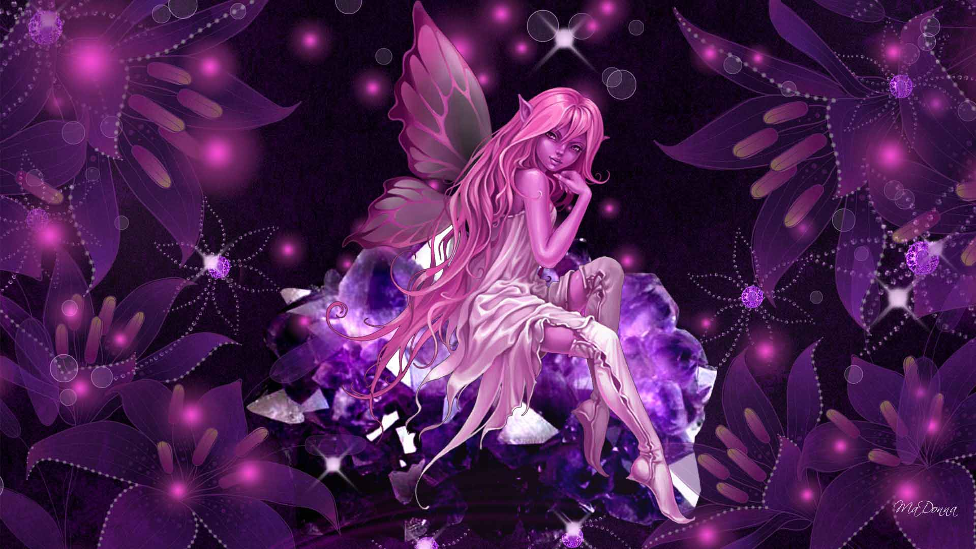 Pink fairy wallpapers wallpaper cave - Free fairy wallpaper and screensavers ...