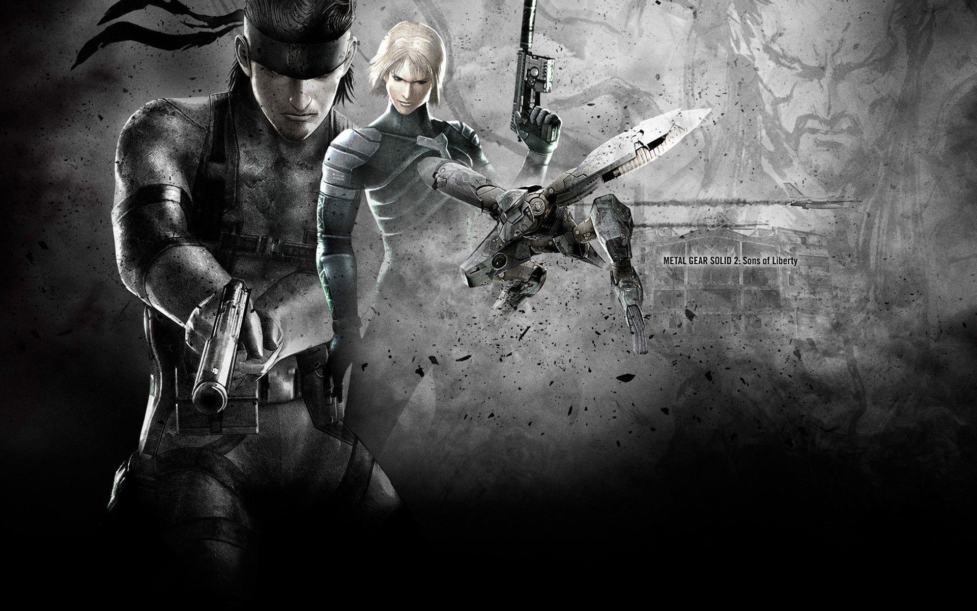 1280x1280 Wallpaper: Metal Gear Solid 2 Wallpapers