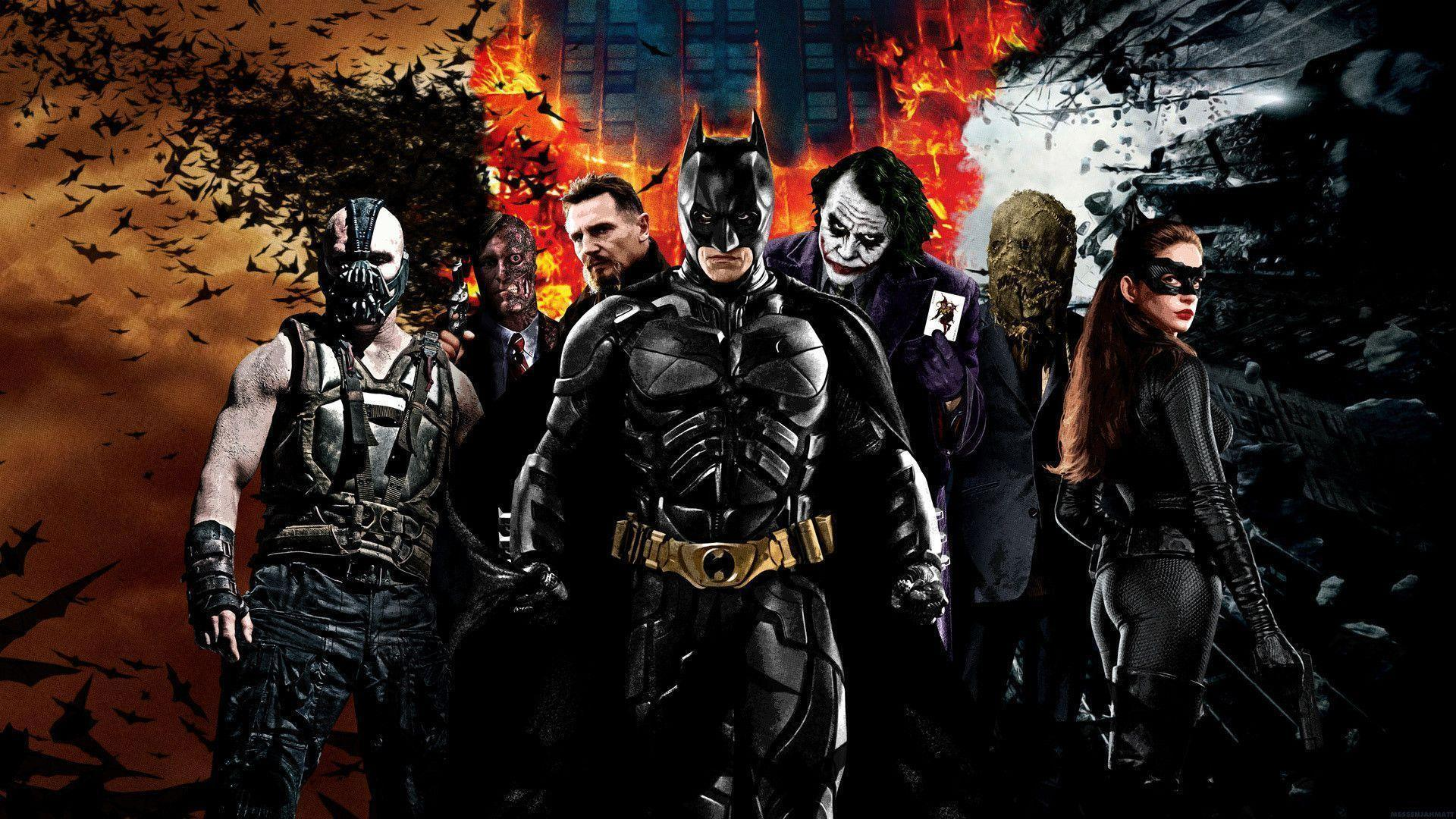 Batman Movie Characters Wallpaper