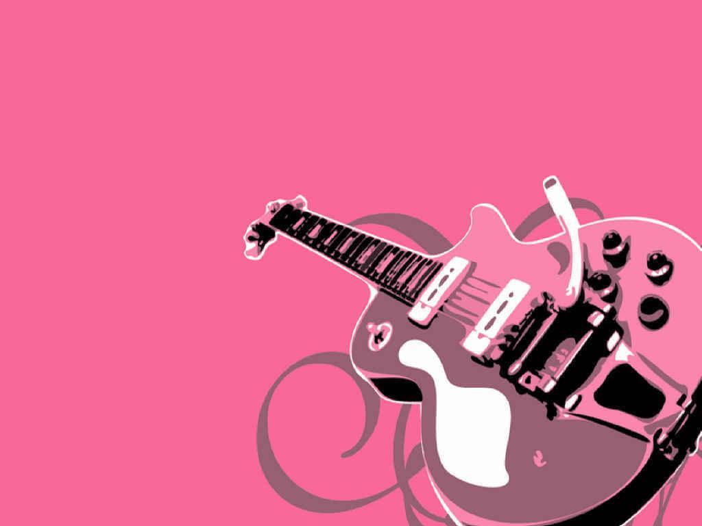 wallpaper music guitar pink -#main