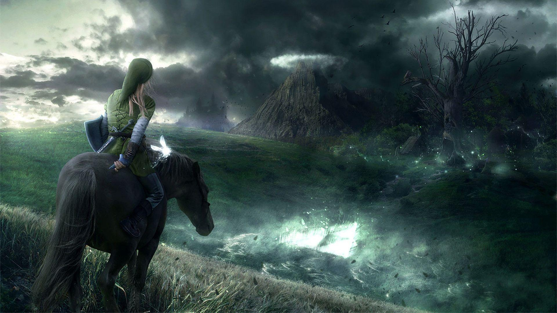 Hd wallpaper zelda - Zelda Hd Wallpaper 1920x1080