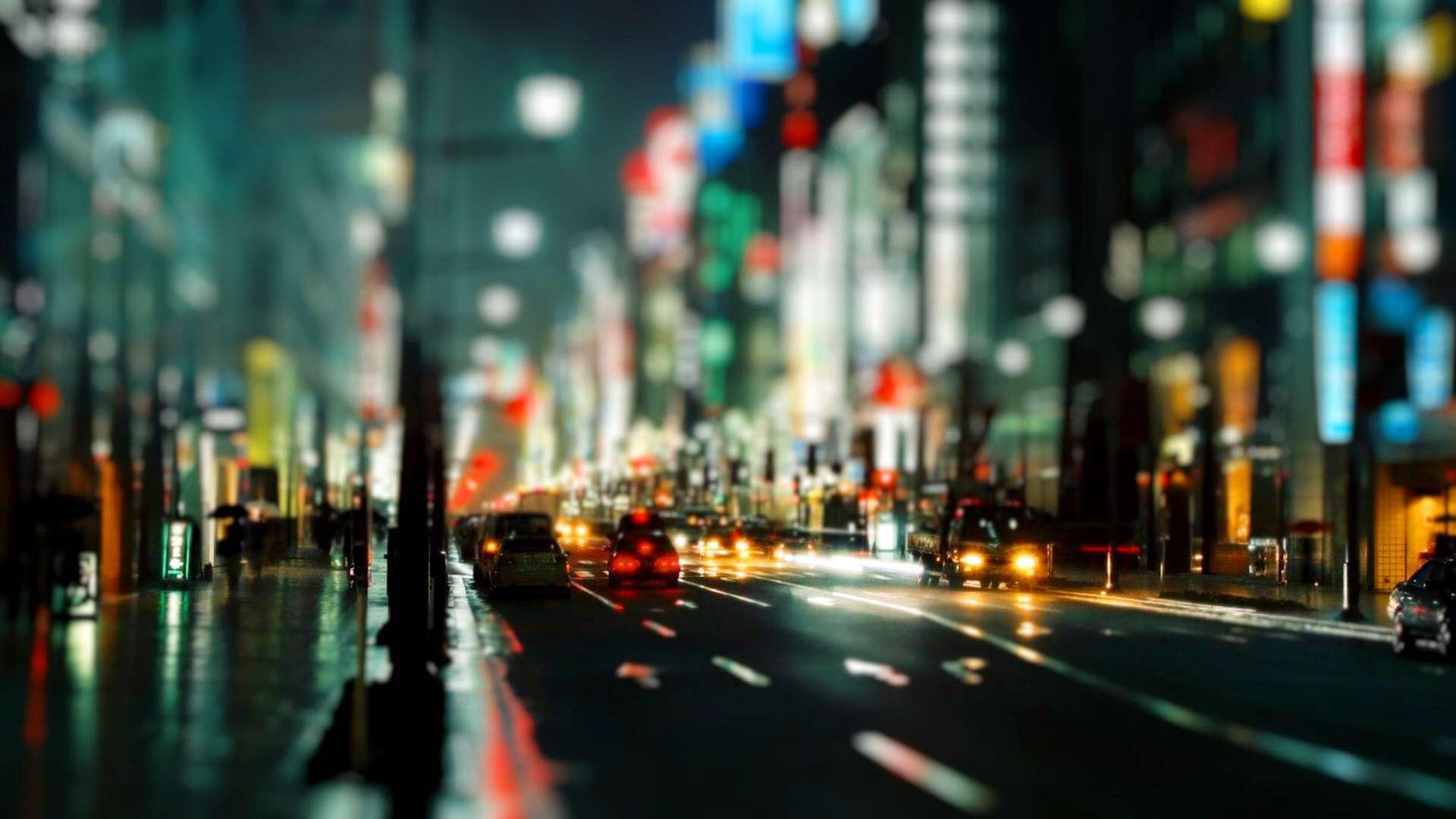 Tokyo in Tilt HD Wallpaper » FullHDWpp - Full HD Wallpapers 1920x1080