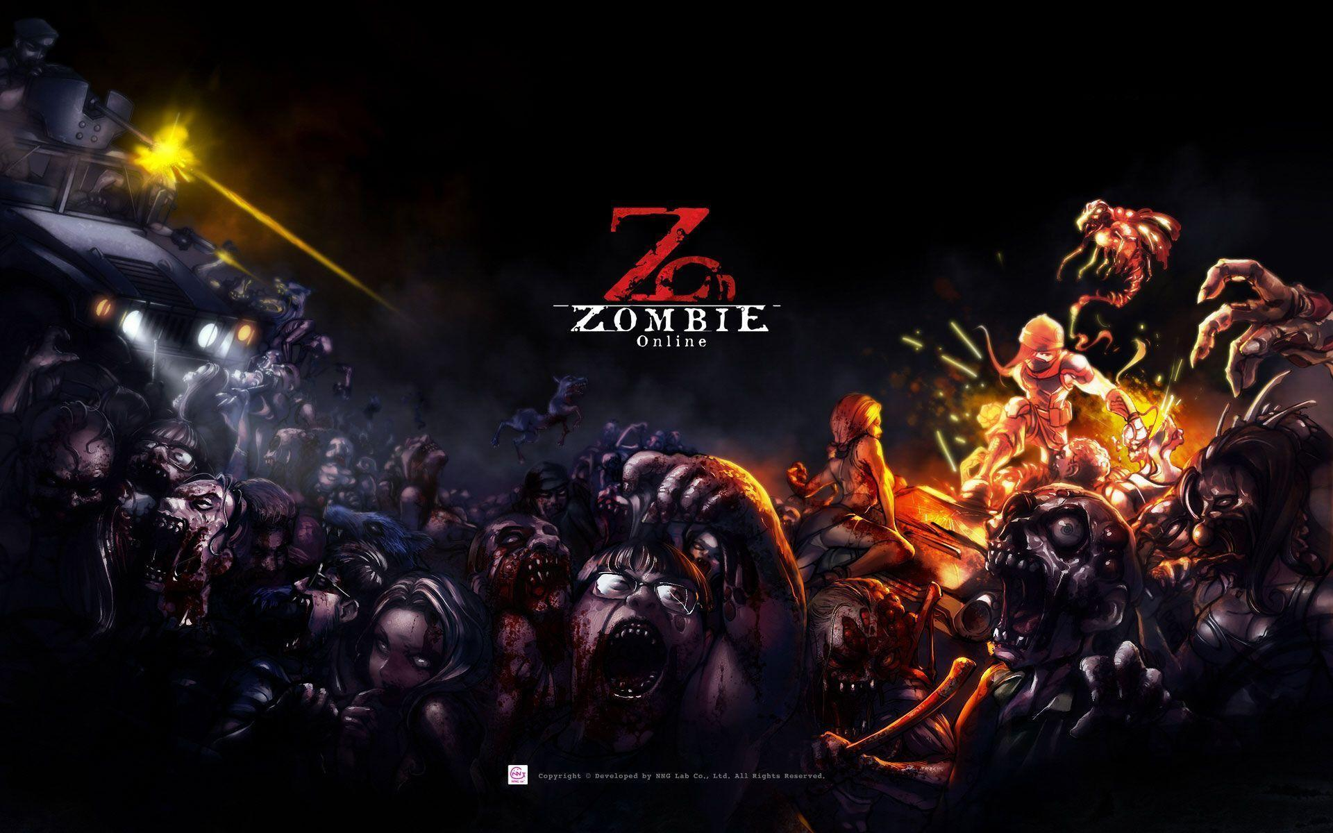 Wallpapers For > Cartoon Zombie Wallpapers