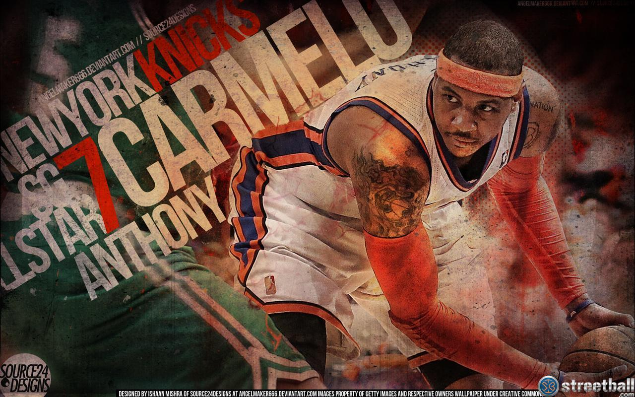 Animals For Carmelo Anthony Dunk Wallpaper Knicks