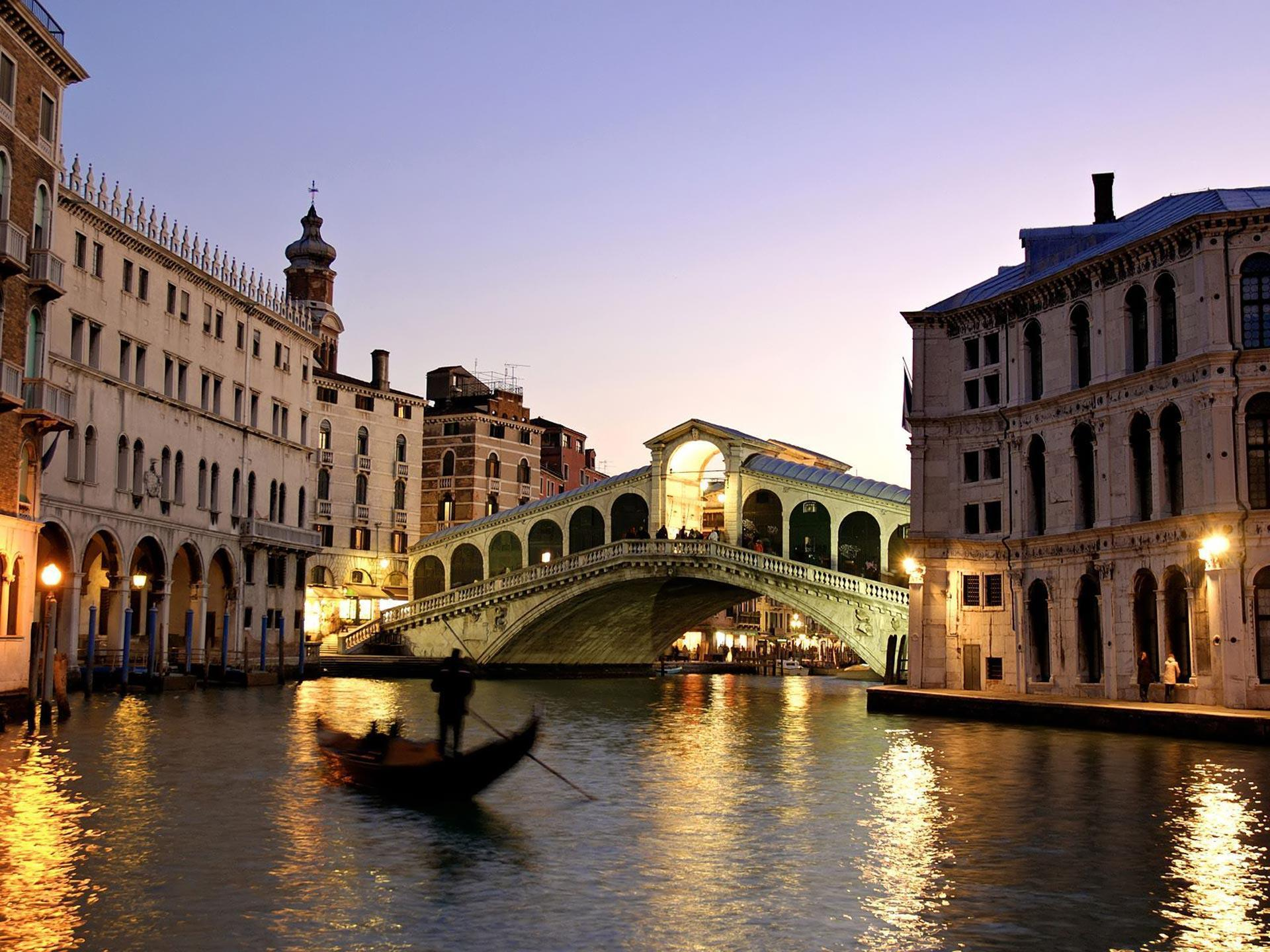Desktop Wallpaper · Gallery · Travels · Rialto Bridge Grand Canal ...