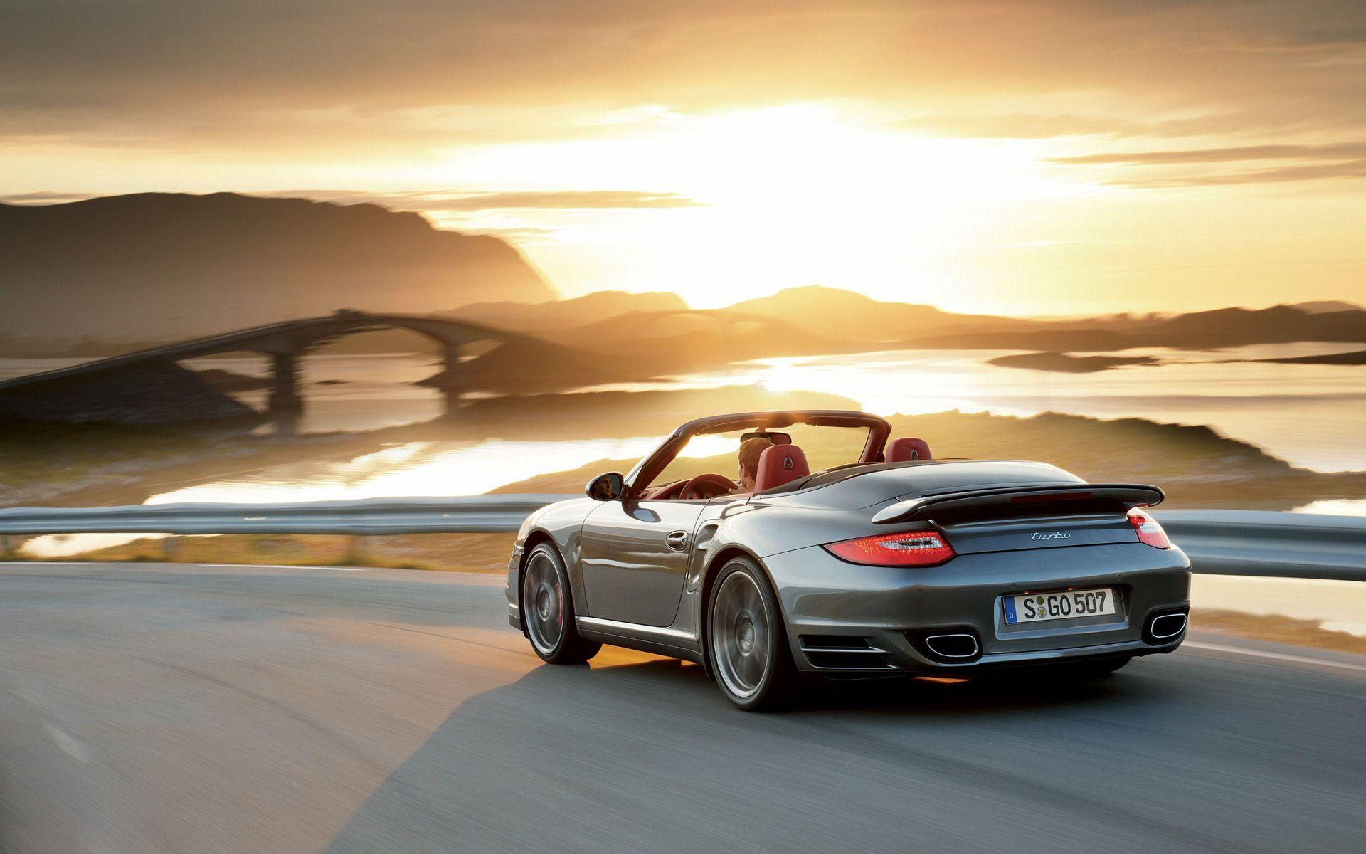 Porsche 911 Turbo Cabriolet wallpaper - 394945