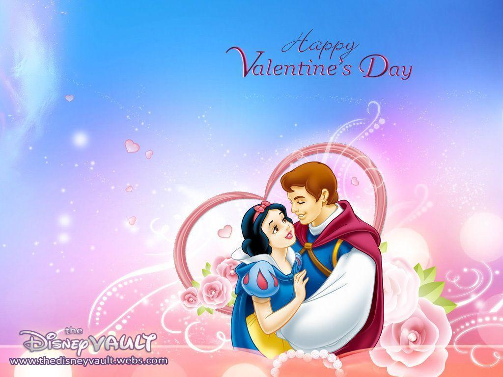 Snow White Valentine's Day Wallpaper - Disney Wallpaper (7904831 ...