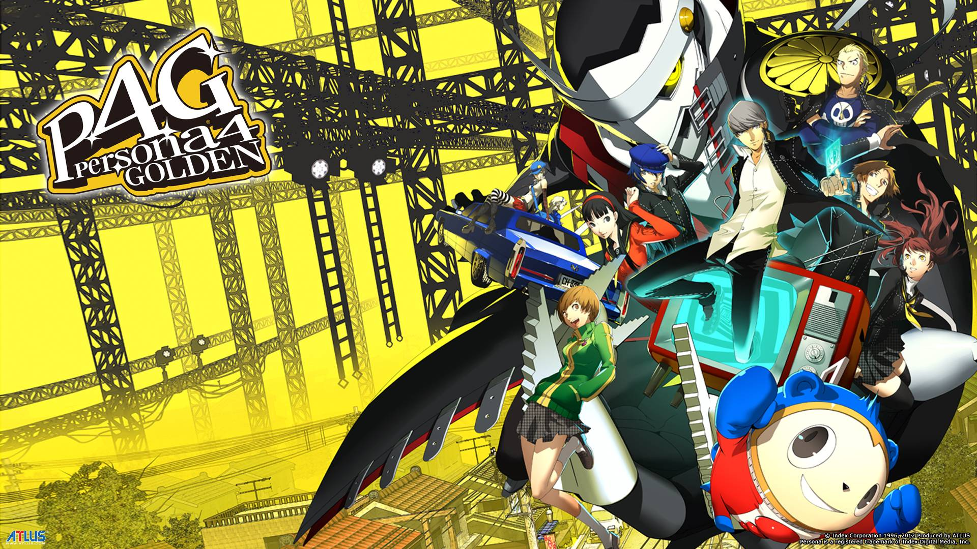 persona 4 wallpapers wallpaper cave