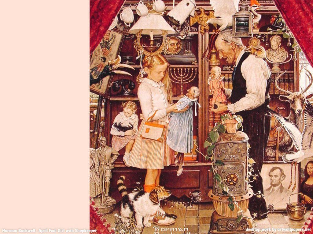 Norman Rockwell Wallpapers - Wallpaper Cave