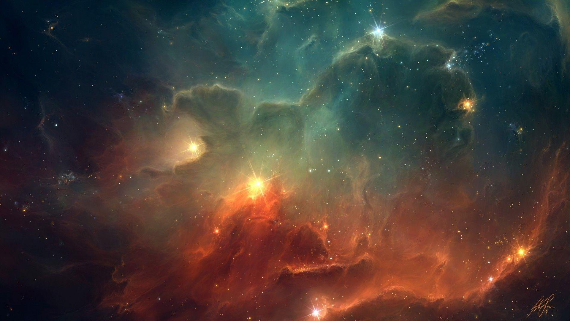 Image For > Colorful Outer Space