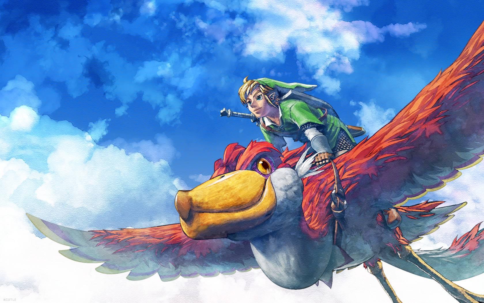 Legend Of Zelda Skyward Sword Wallpapers Wallpaper Cave