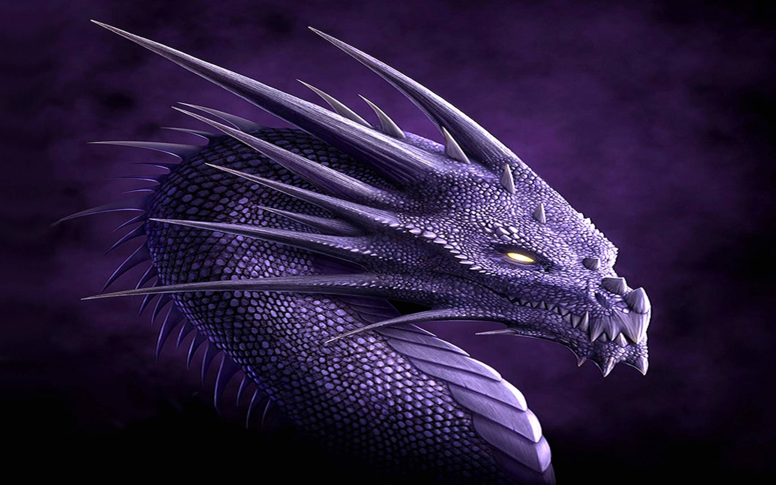 Fantasy Dragon Head Picture Wallpapers
