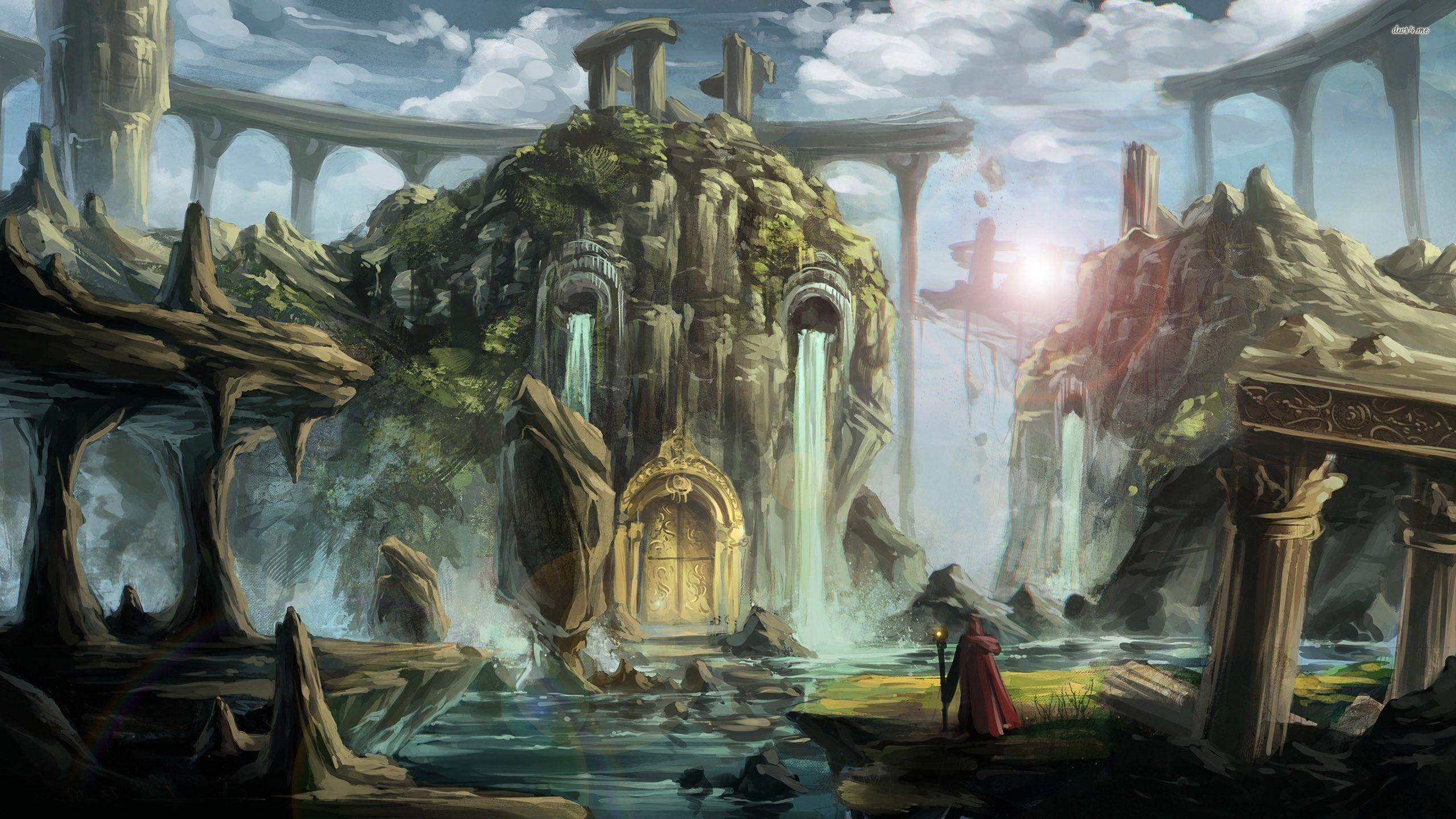 magic castle fantasy world - photo #23