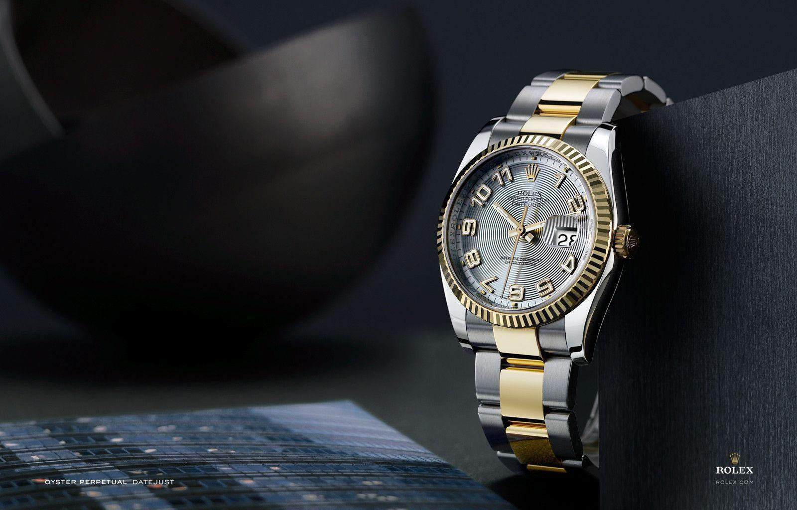 Trends For > Gold Rolex Wallpapers