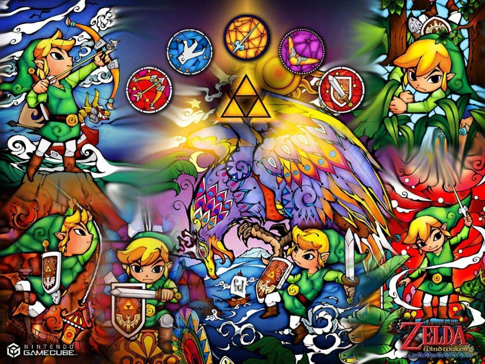 Image For > Legend Of Zelda Wind Waker Hd Wallpapers