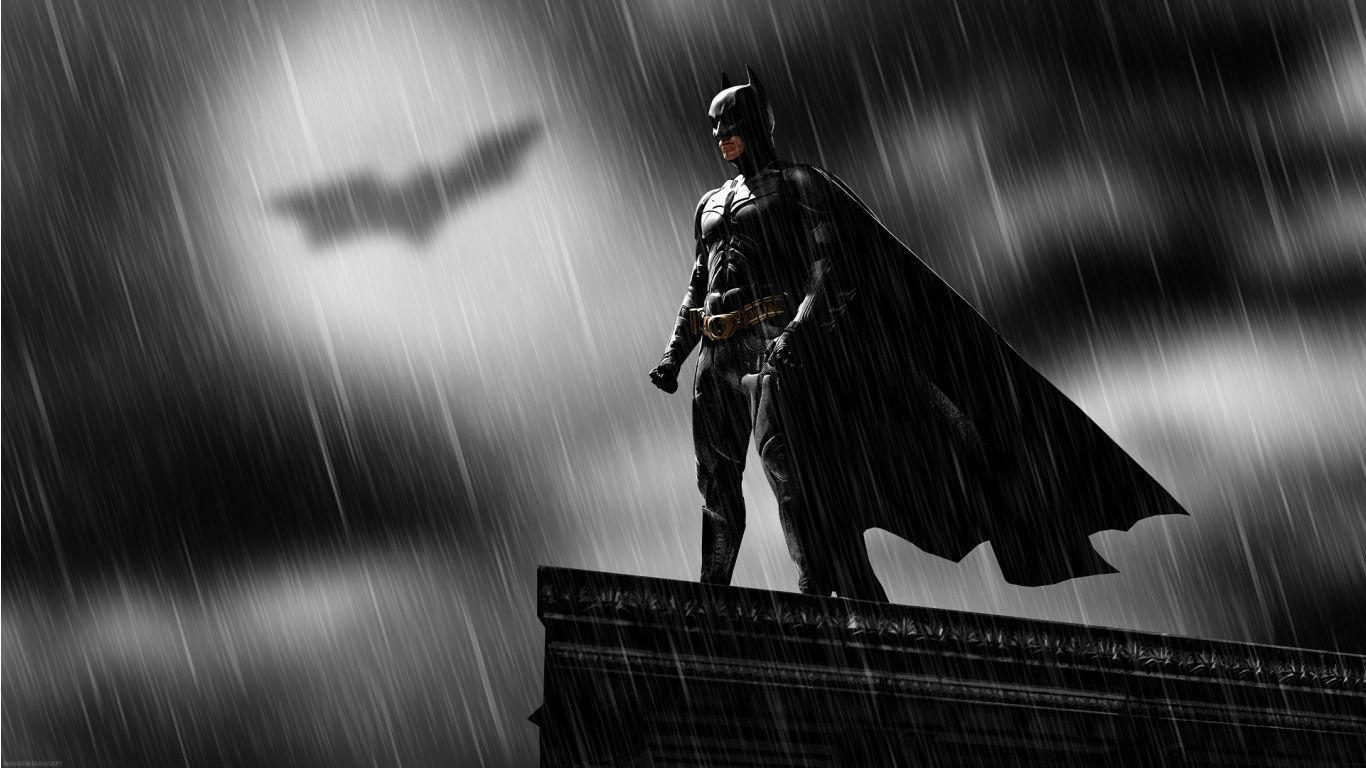 Batman Logo High Definition Movie Wallpaper 1366x768 278550