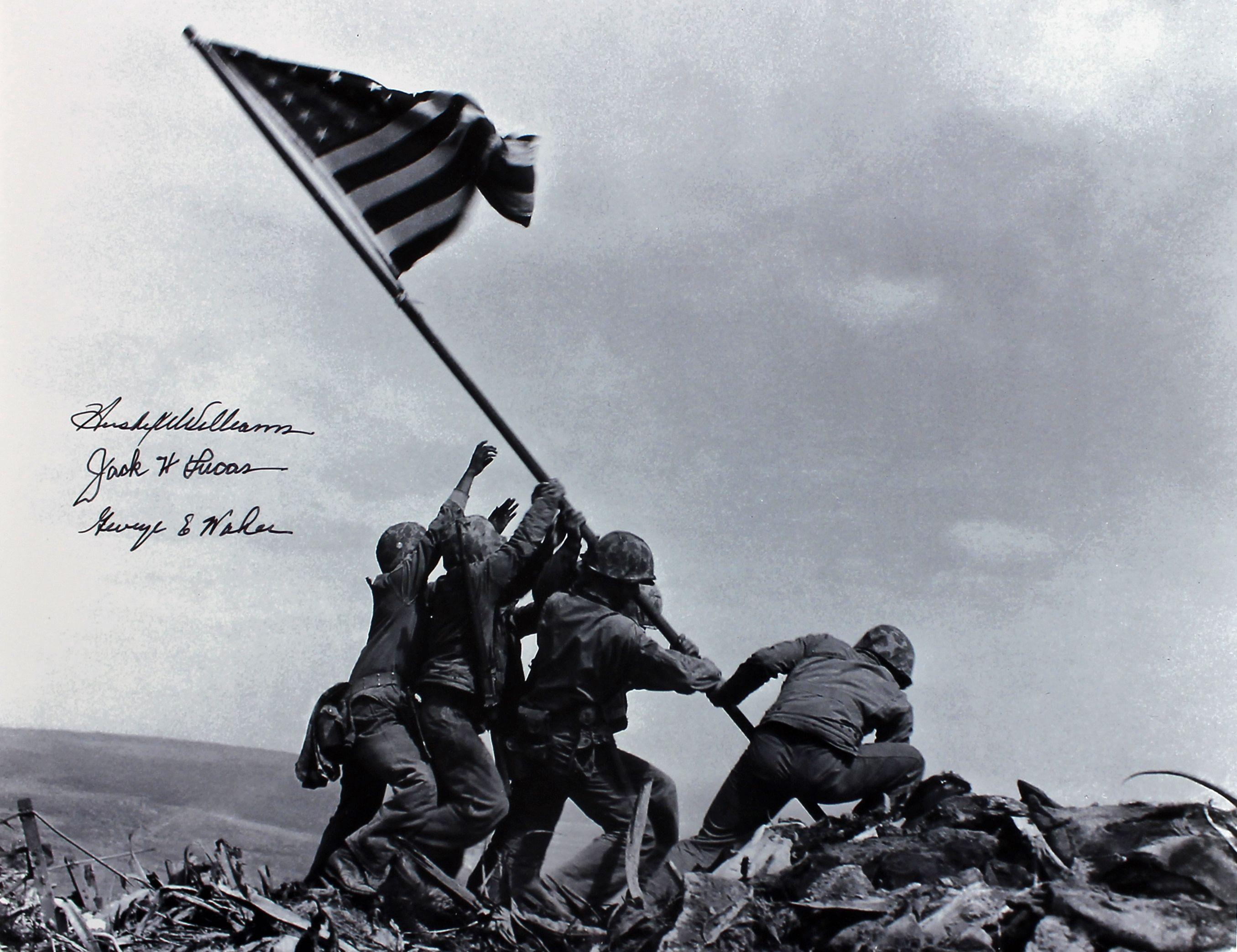the message behind ed freedmans remix of raising the flag on iwo jima New evidence shows man raising us flag in iwo jima was misidentified marine corps says john bradley was not depicted in picture.
