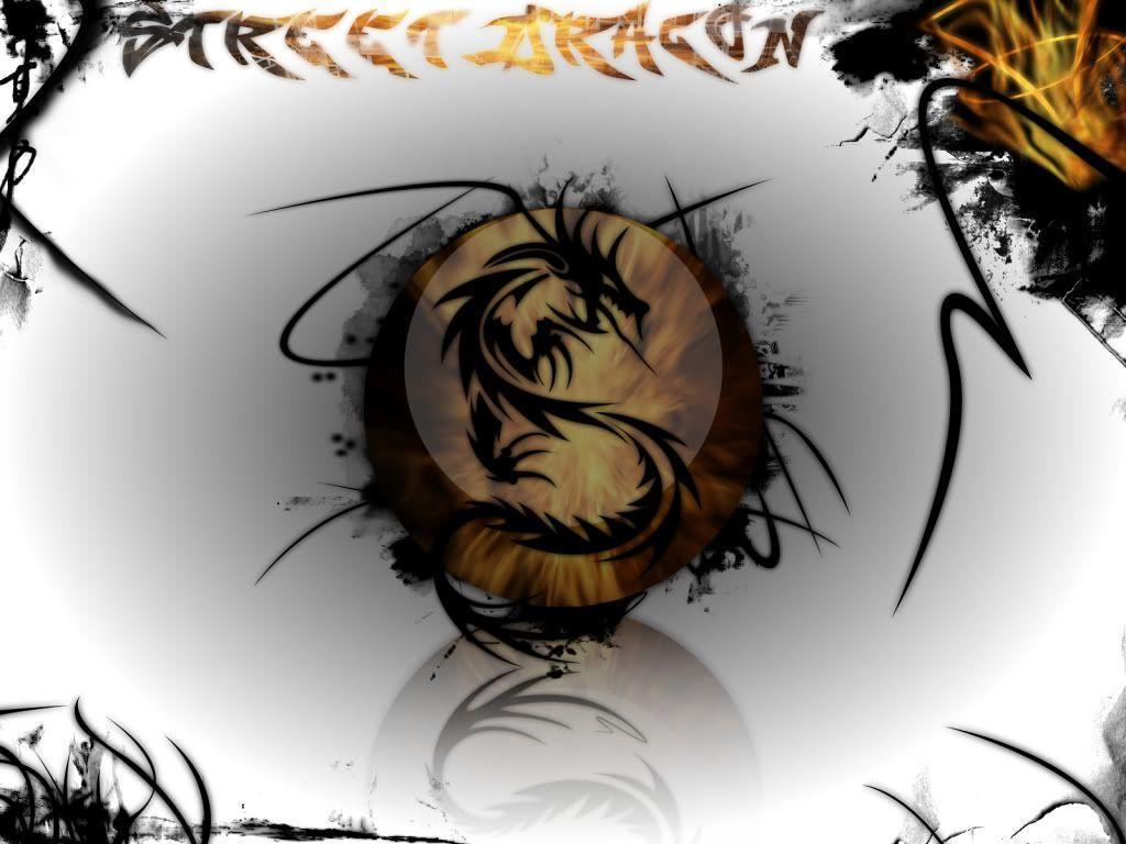 tribal dragon wallpaper by - photo #27