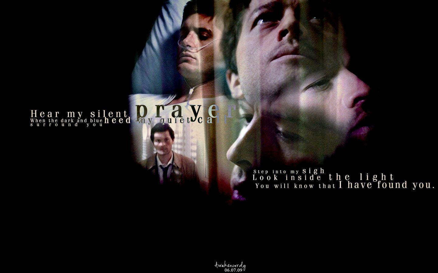 Supernatural Wallpapers Castiel - Wallpaper Cave