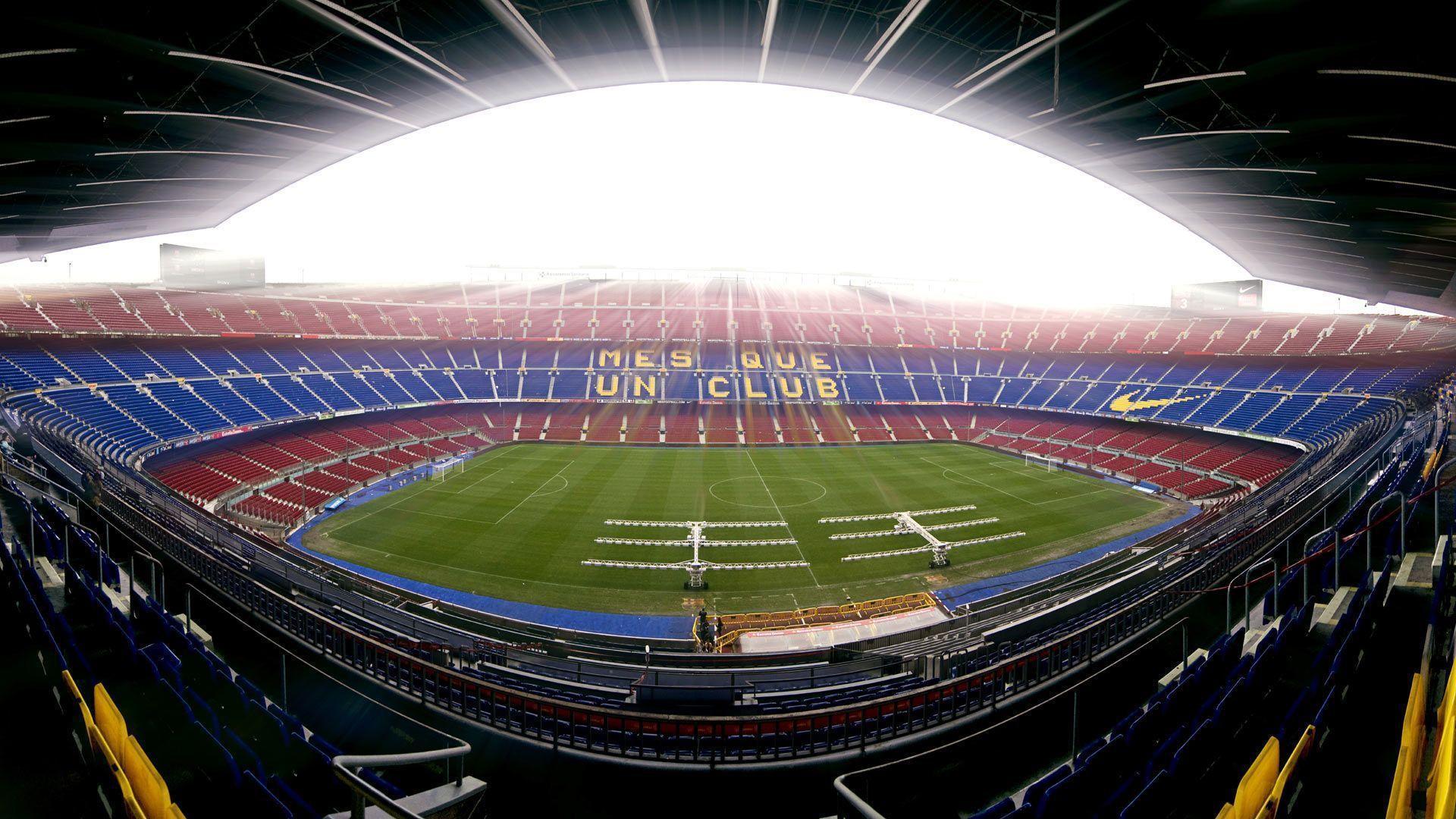 Fc Barcelona Camp Nou Soccer Clubs Soccer Wallpapers Hd: FC Barcelona Wallpapers