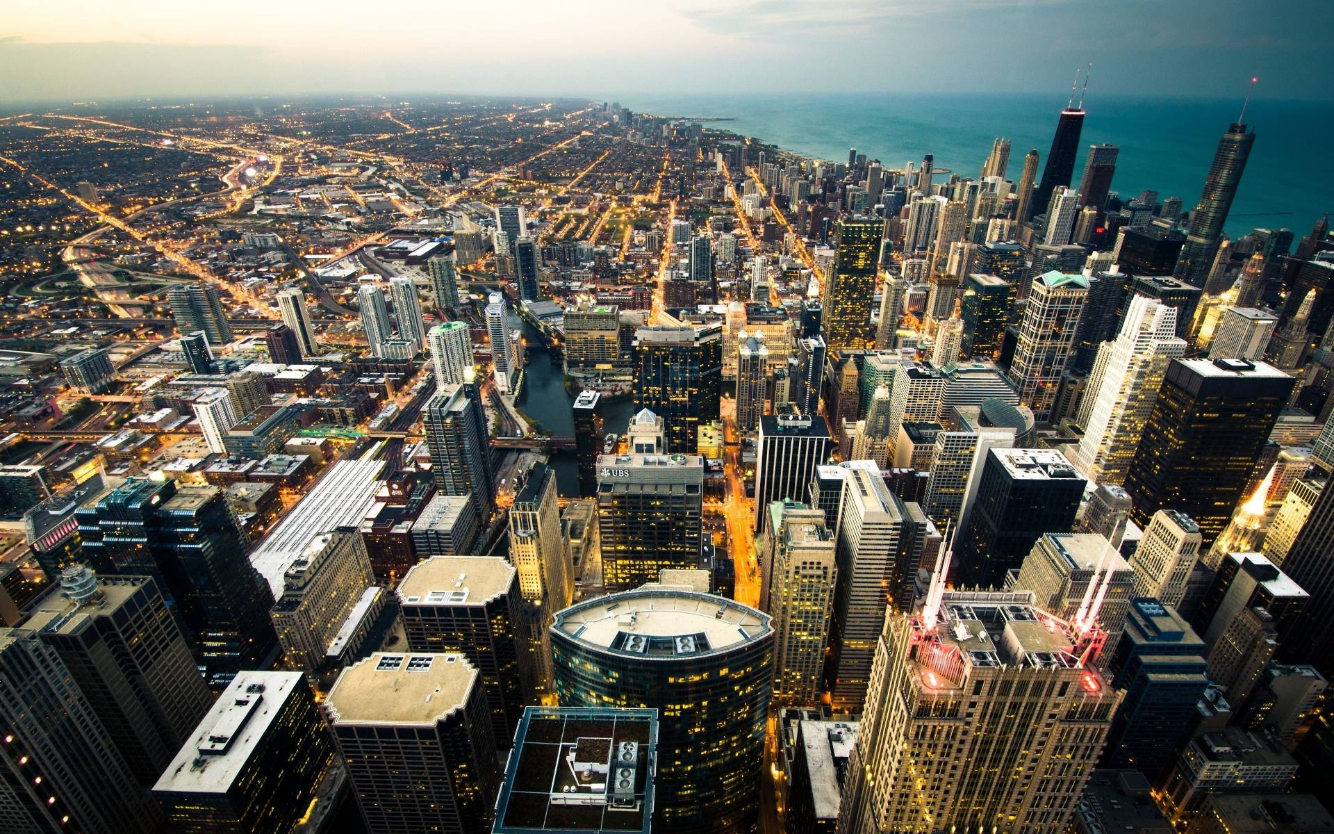 chicago city skyline hd wallpaper 6011 frenzia