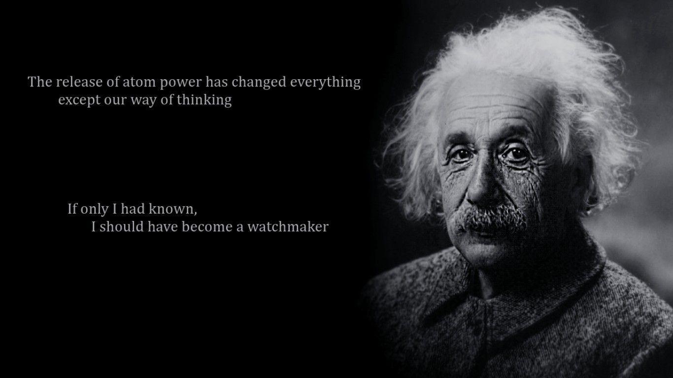 Albert Einstein Quote Wallpapers On Frenzia
