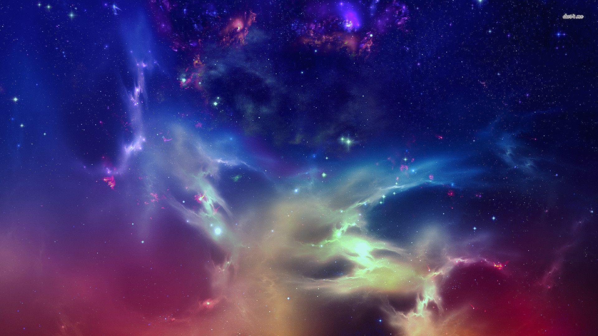 Wallpapers For > Purple Galaxy Wallpapers