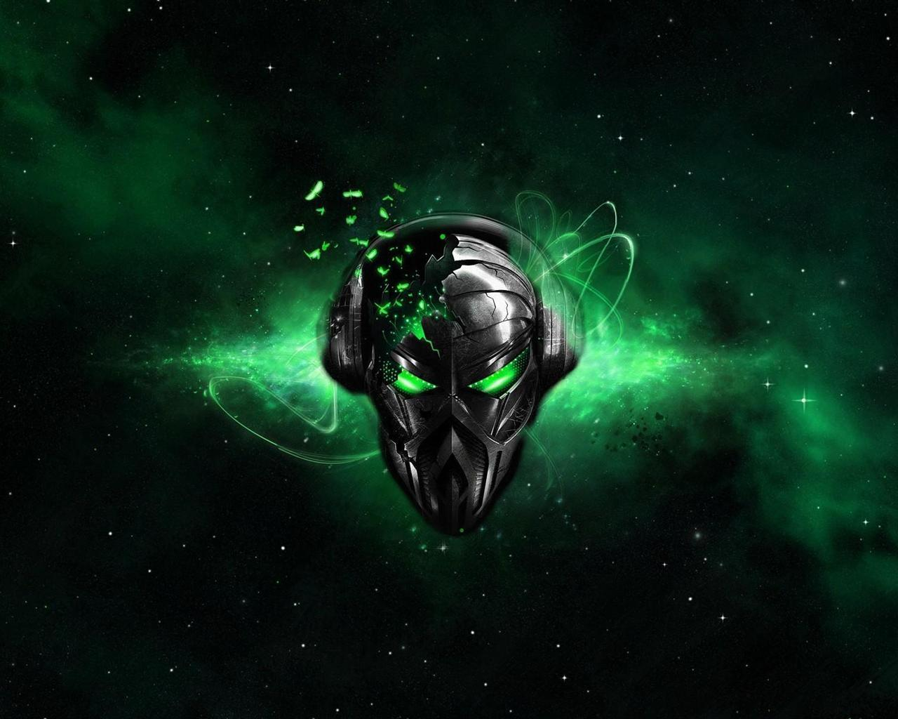 alienware wallpaper green hd - photo #19