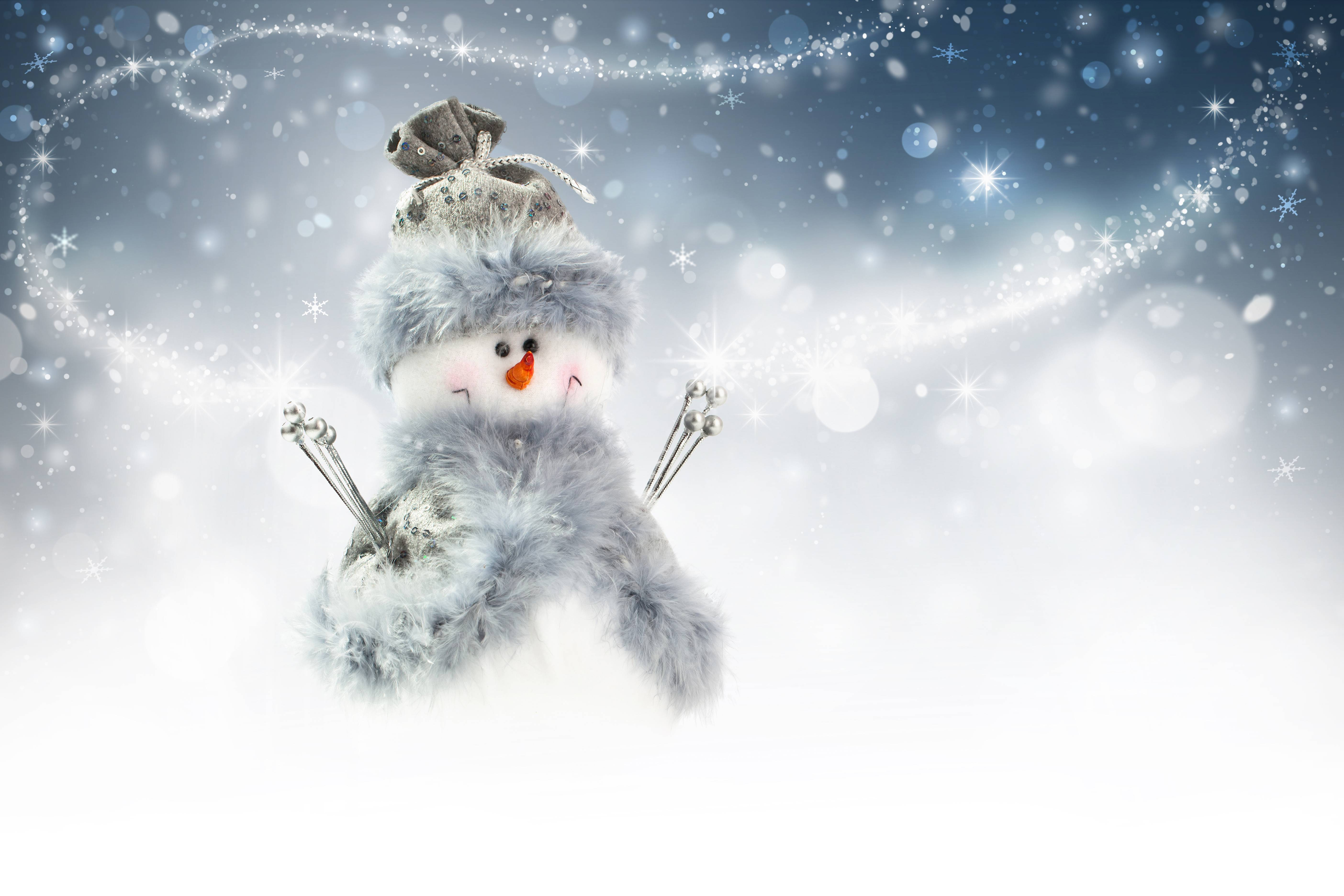 snowman desktop background-#25