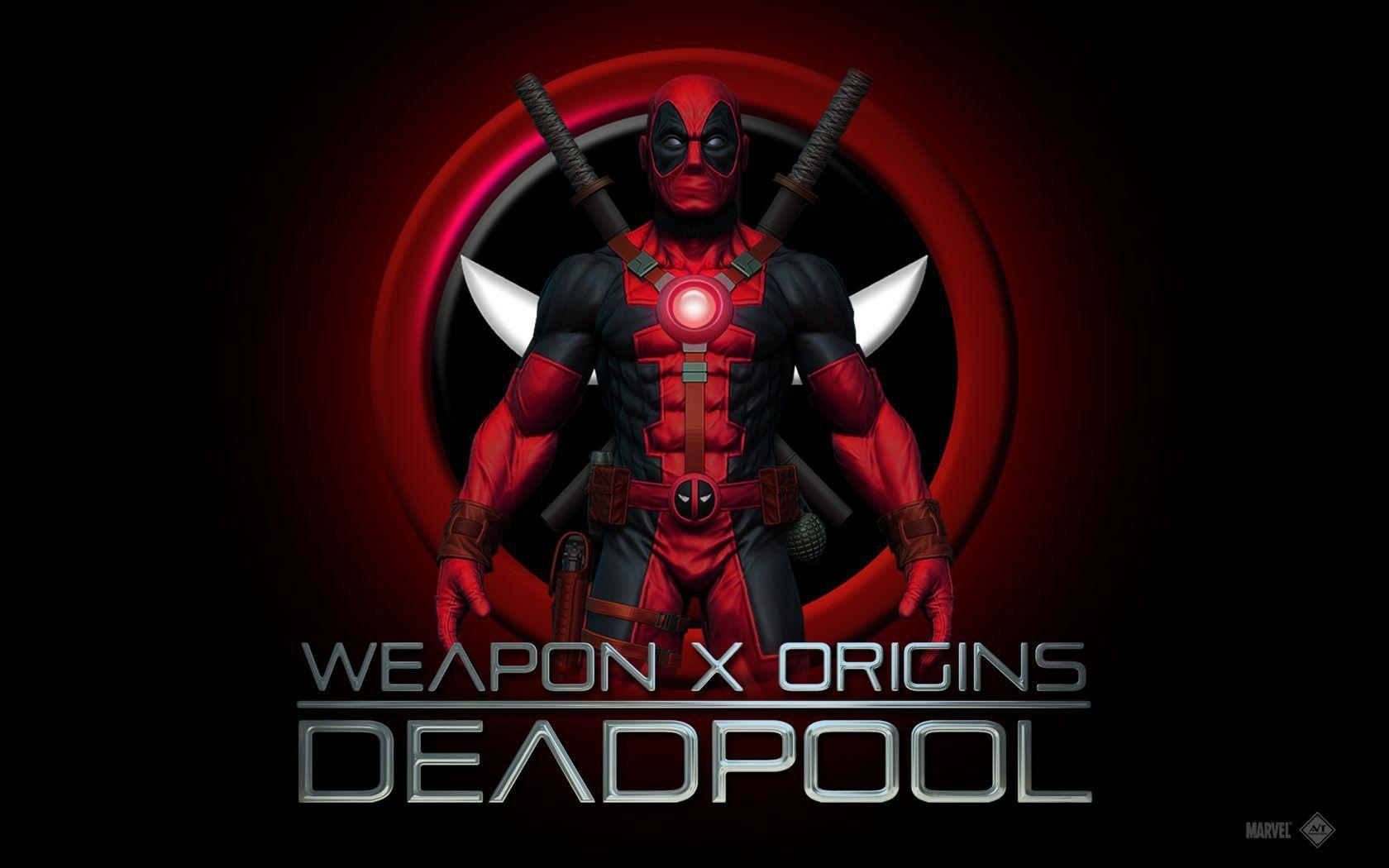 Movie Wallpapers Deadpool The Movie Wallpaper | HD Wallpaper For ...